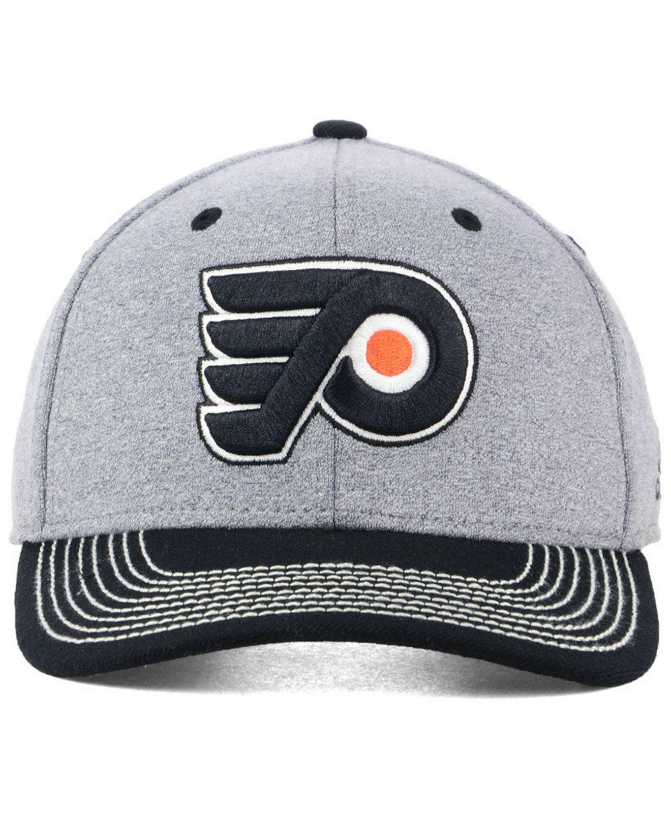 buy online d0a27 8f19e Lyst - adidas Philadelphia Flyers Heather Line Change Cap in Gray for Men