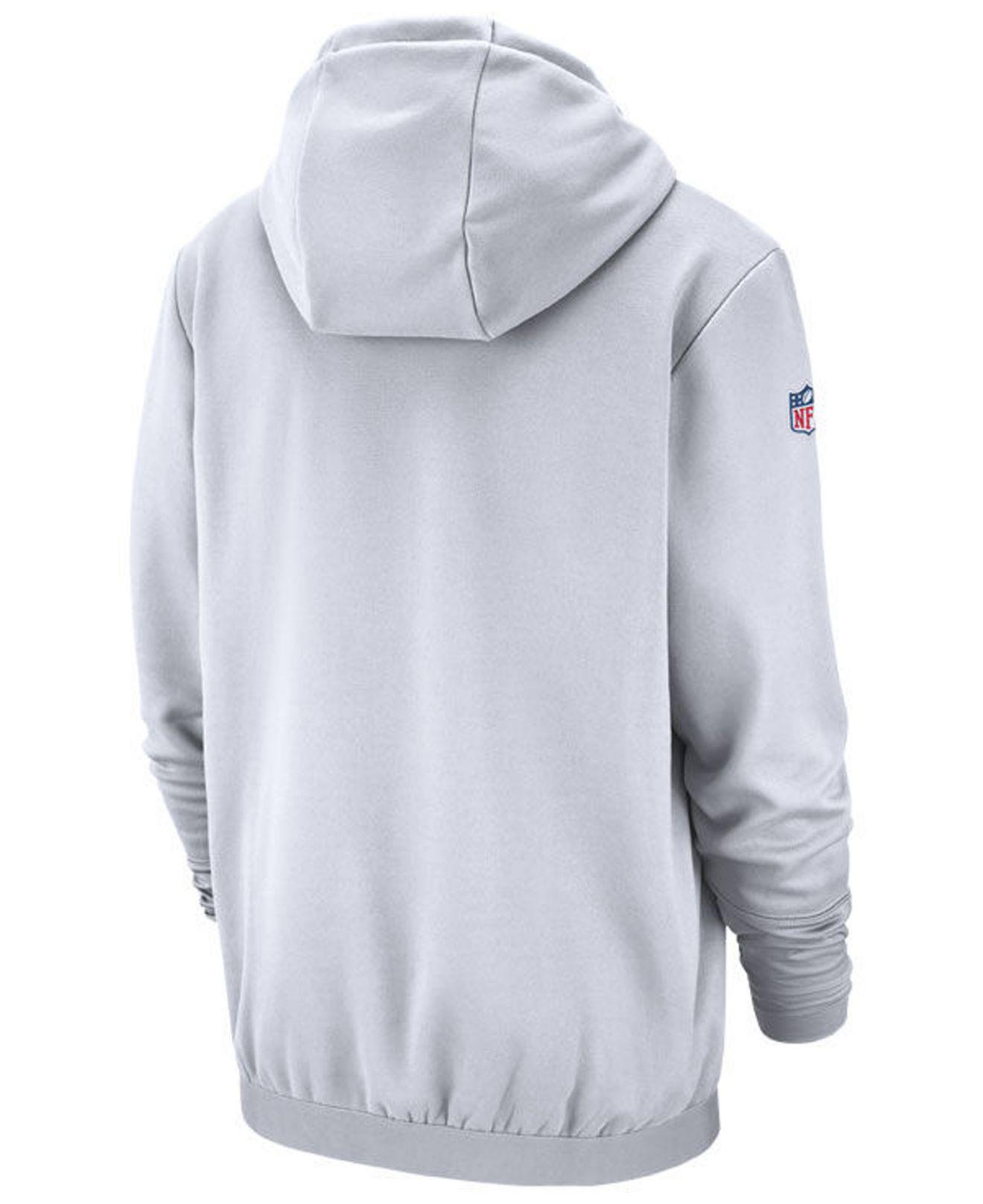4d4aec8ca Lyst - Nike Green Bay Packers Sideline Player Local Therma Hoodie in White  for Men