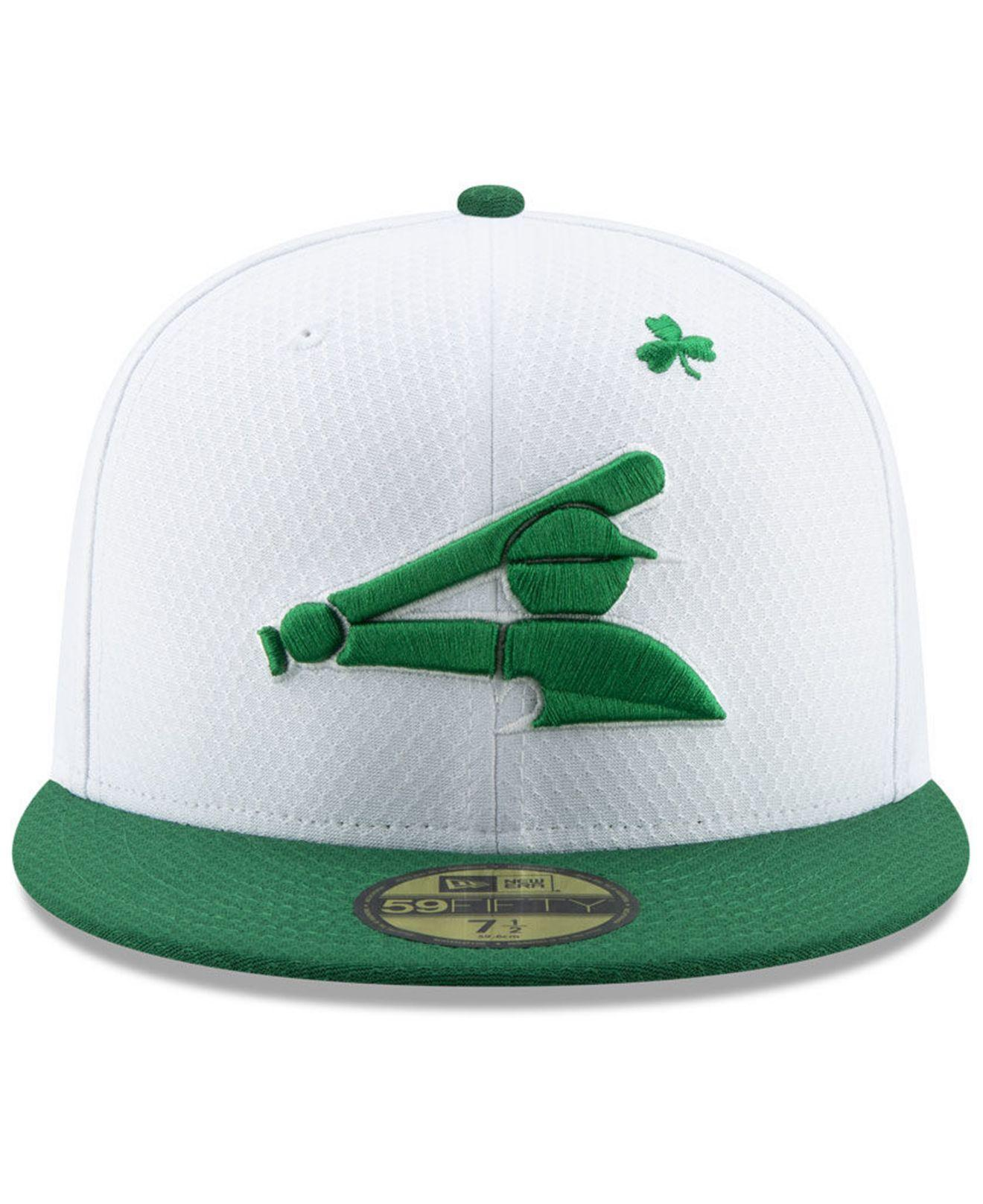 lowest price 8a7a5 2bea7 Lyst - KTZ Chicago White Sox St. Pattys Day 59fifty-fitted Cap in White for  Men