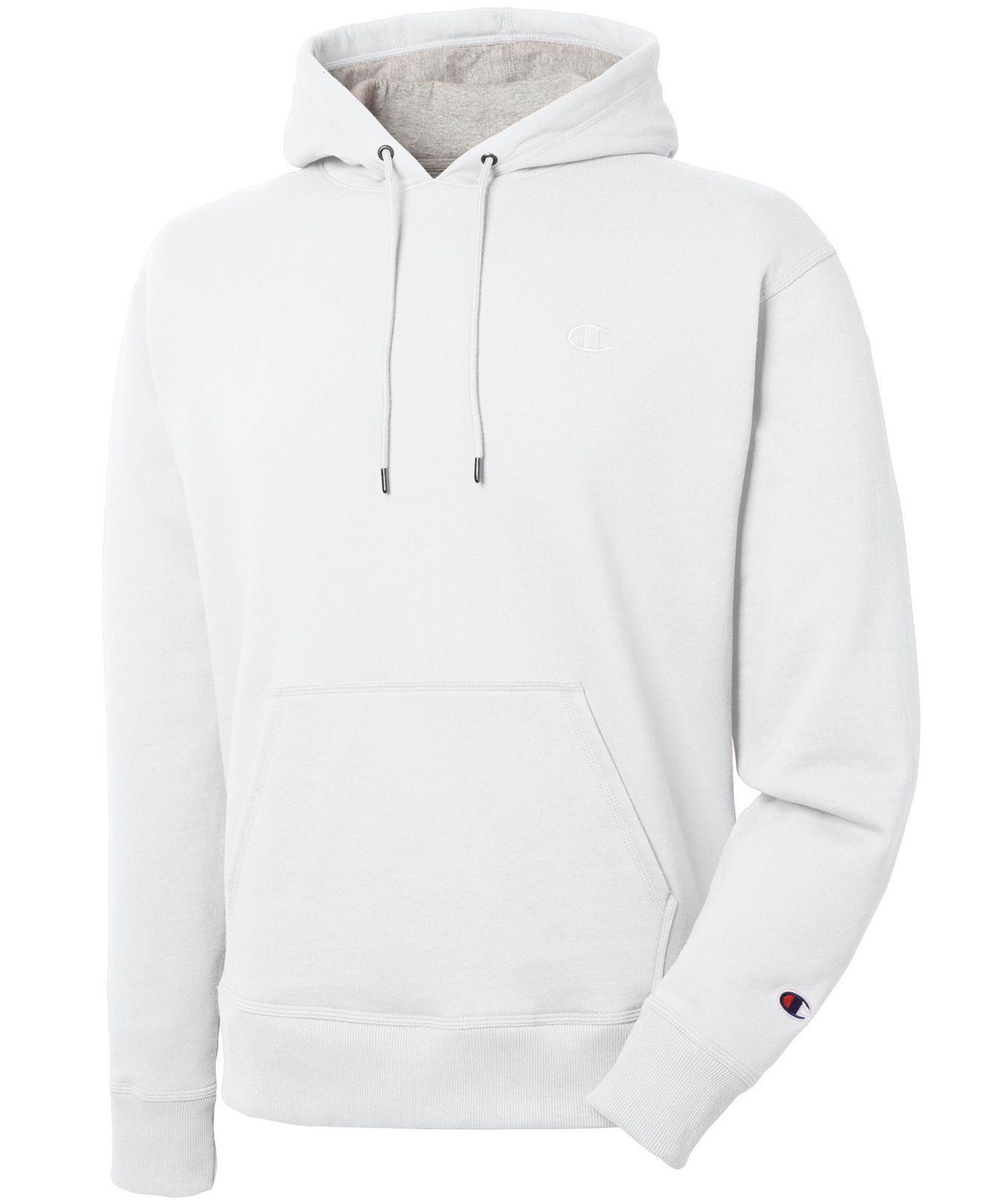 688e7420d8cd Lyst - Champion Men s Powerblend Fleece Hoodie in White for Men