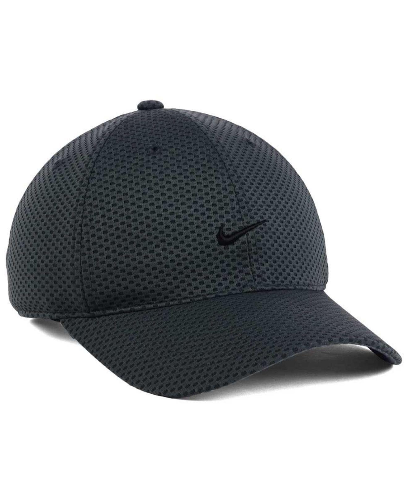 8088ad4b ... buy lyst nike 6 panel tailwind cap in black for men 62dac cd3a8