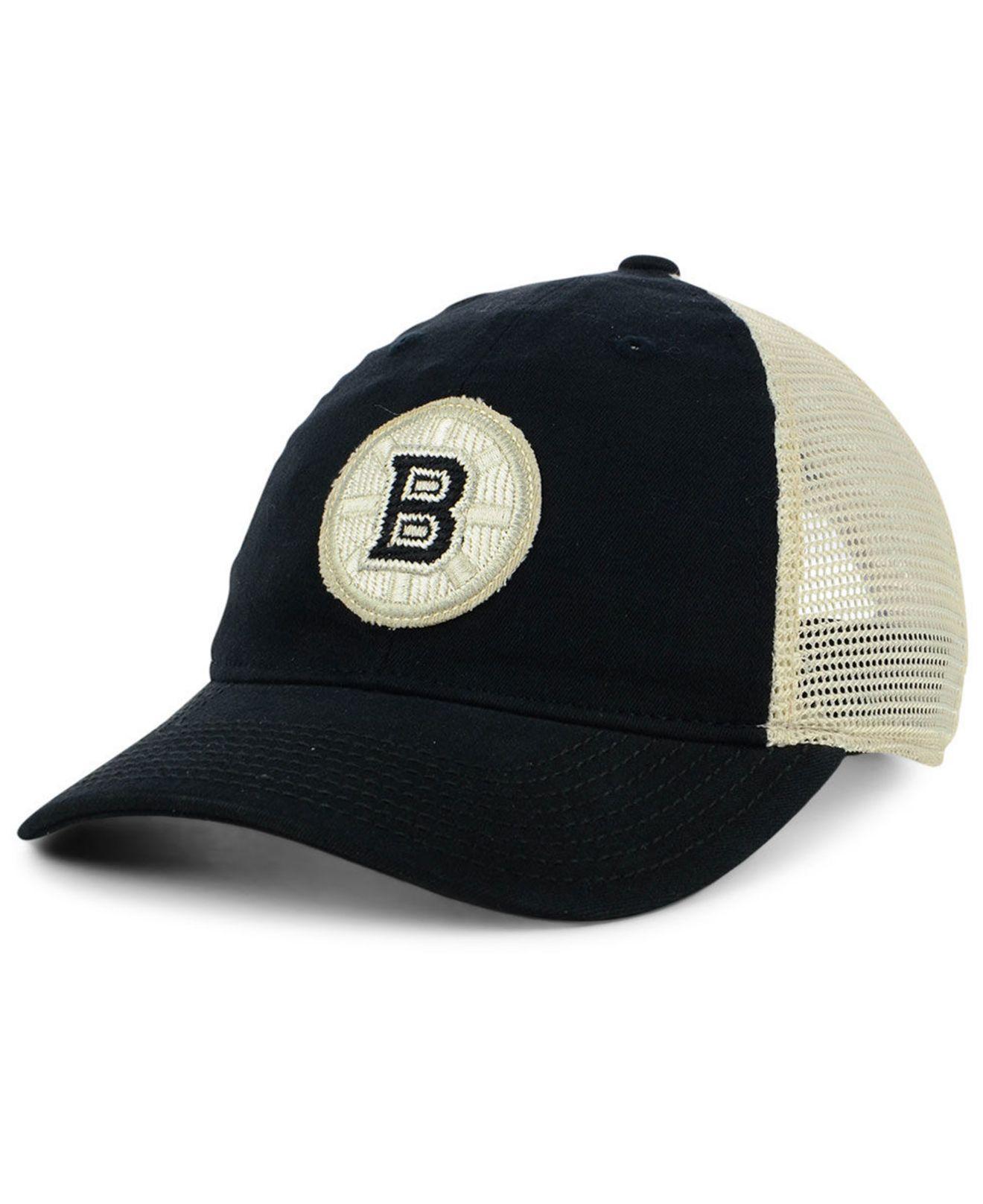 a31e463b141ca Lyst - adidas Boston Bruins Sun Bleached Slouch Snapback Cap in ...