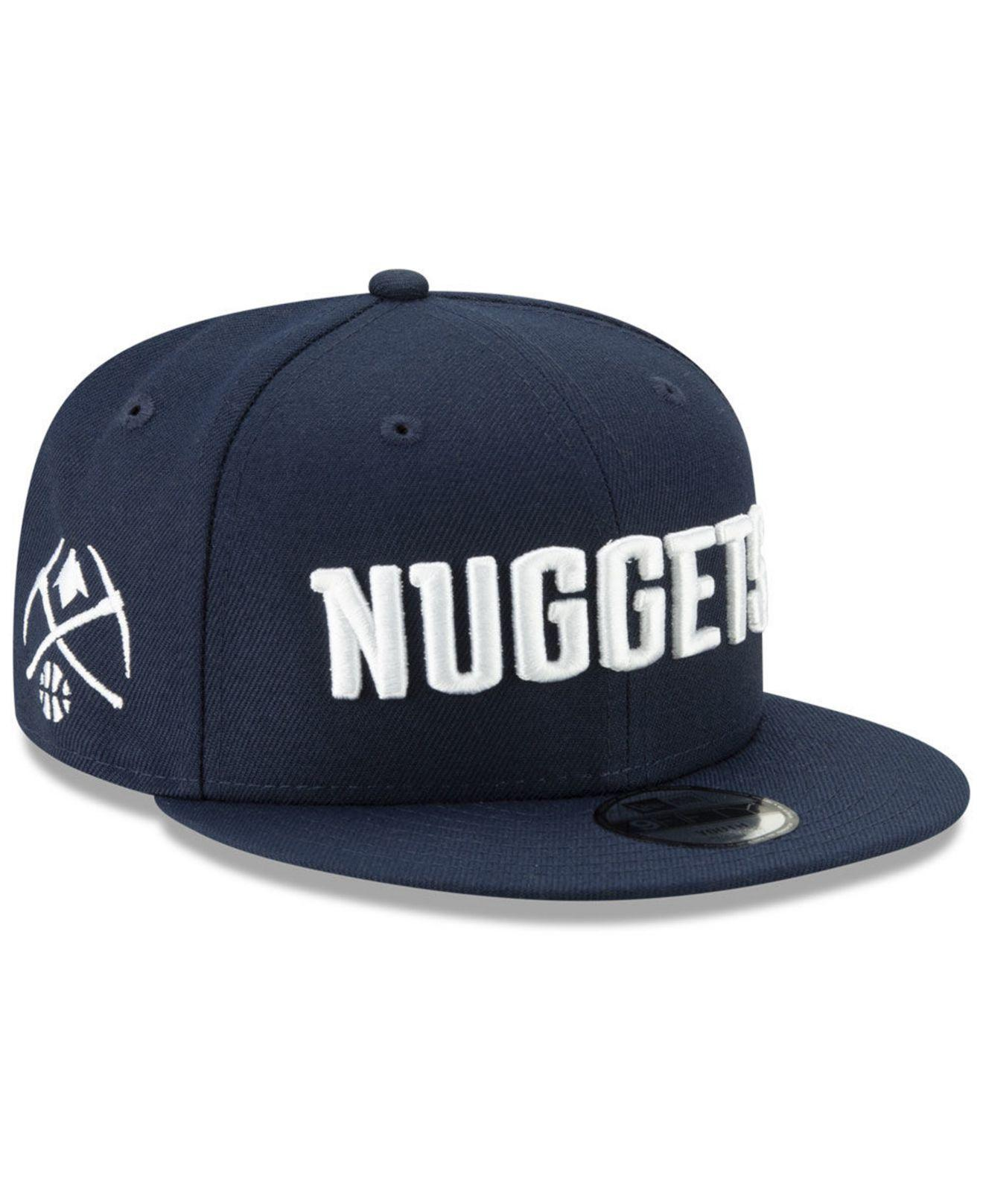 finest selection 66c2a 6507a KTZ Denver Nuggets City Series 2.0 9fifty Snapback Cap in Blue for ...