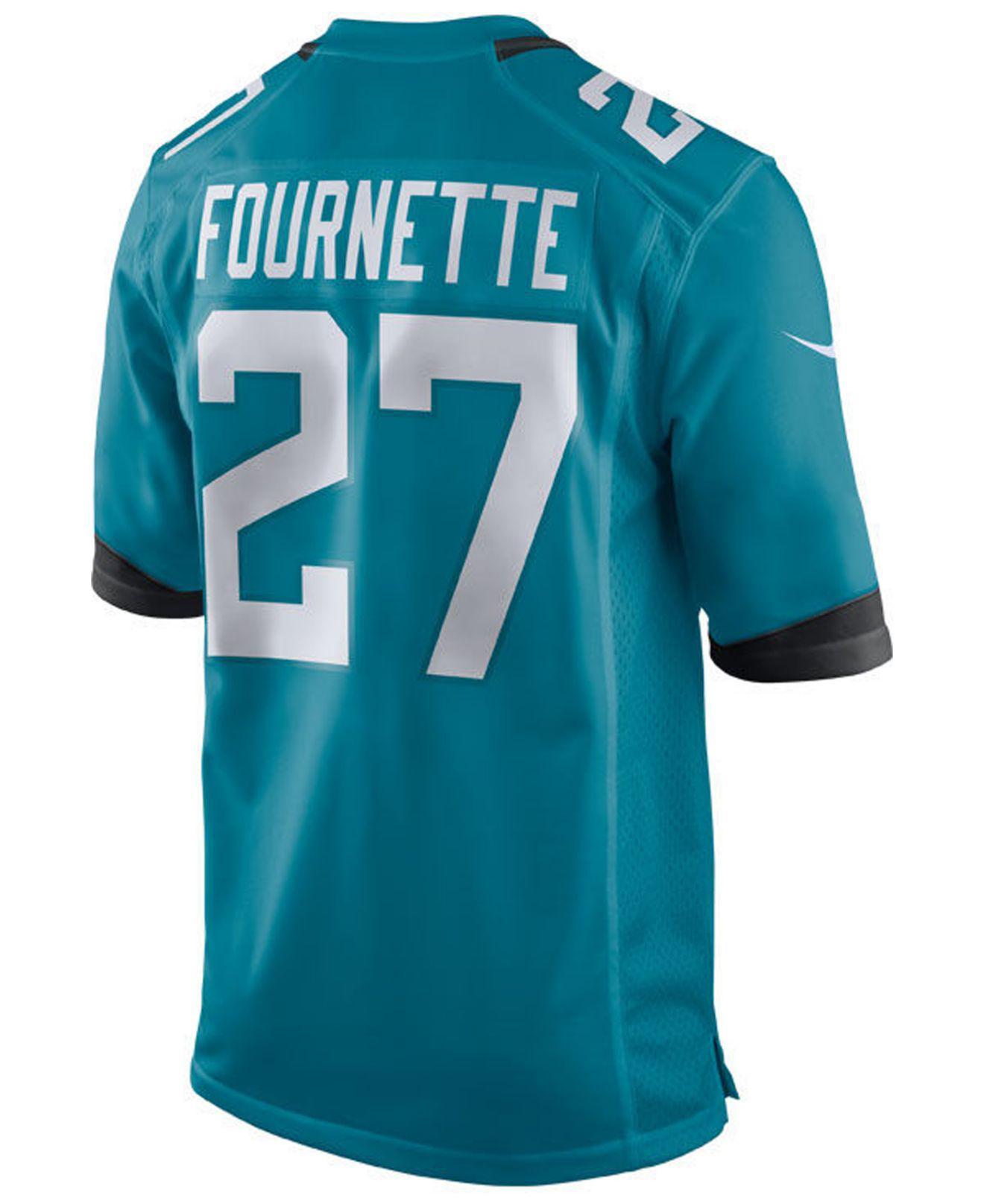 e5429f78b Lyst - Nike Leonard Fournette Jacksonville Jaguars Game Jersey in Blue for  Men