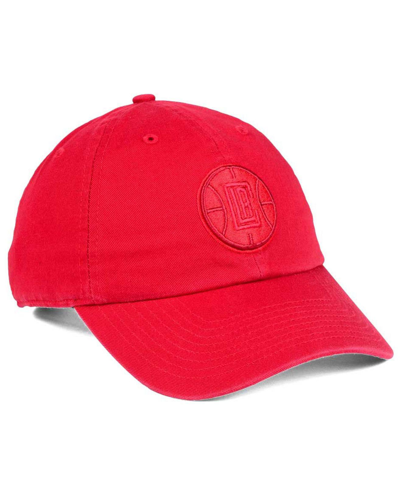 size 40 e63e8 36b84 Lyst - 47 Brand Triple Rush Clean Up Cap in Red for Men