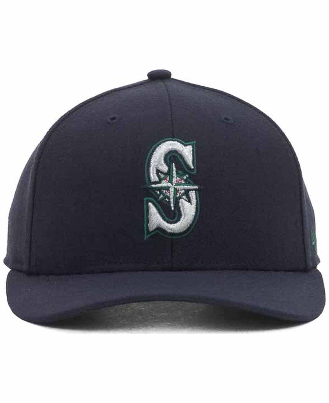 00e433b2b8a2b Lyst - 47 Brand Seattle Mariners Mlb On Field Replica Mvp Cap in Blue for  Men