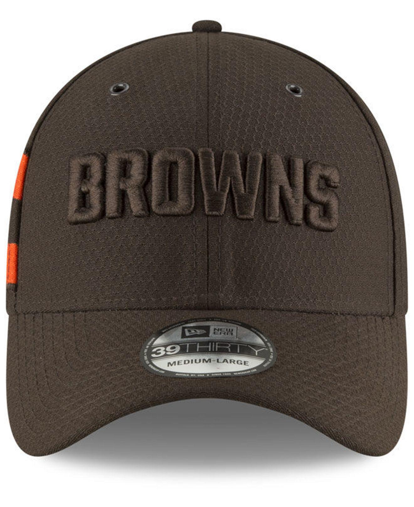 innovative design 09e76 7a395 KTZ Cleveland Browns Official Color Rush 39thirty Stretch Fitted Cap ...