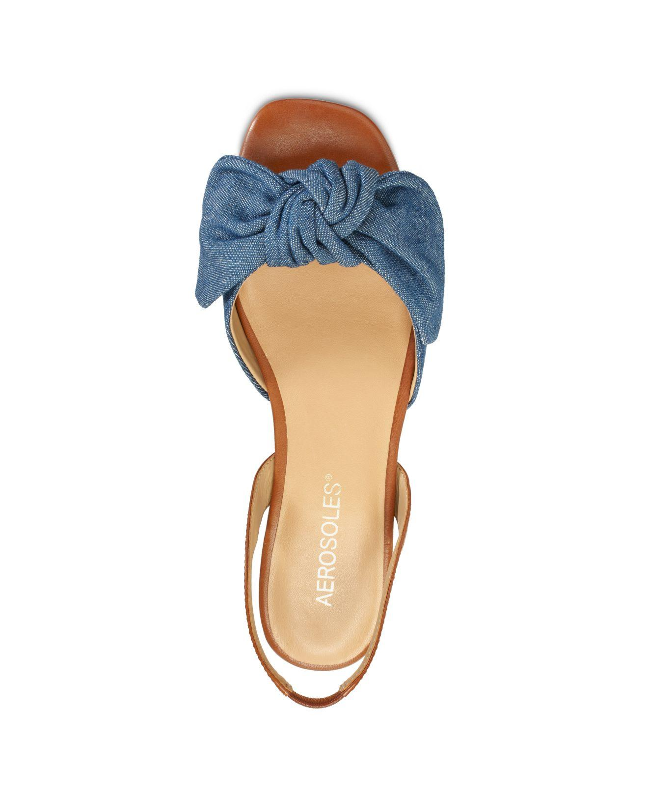 Aerosoles Leather Down Time Sandals in