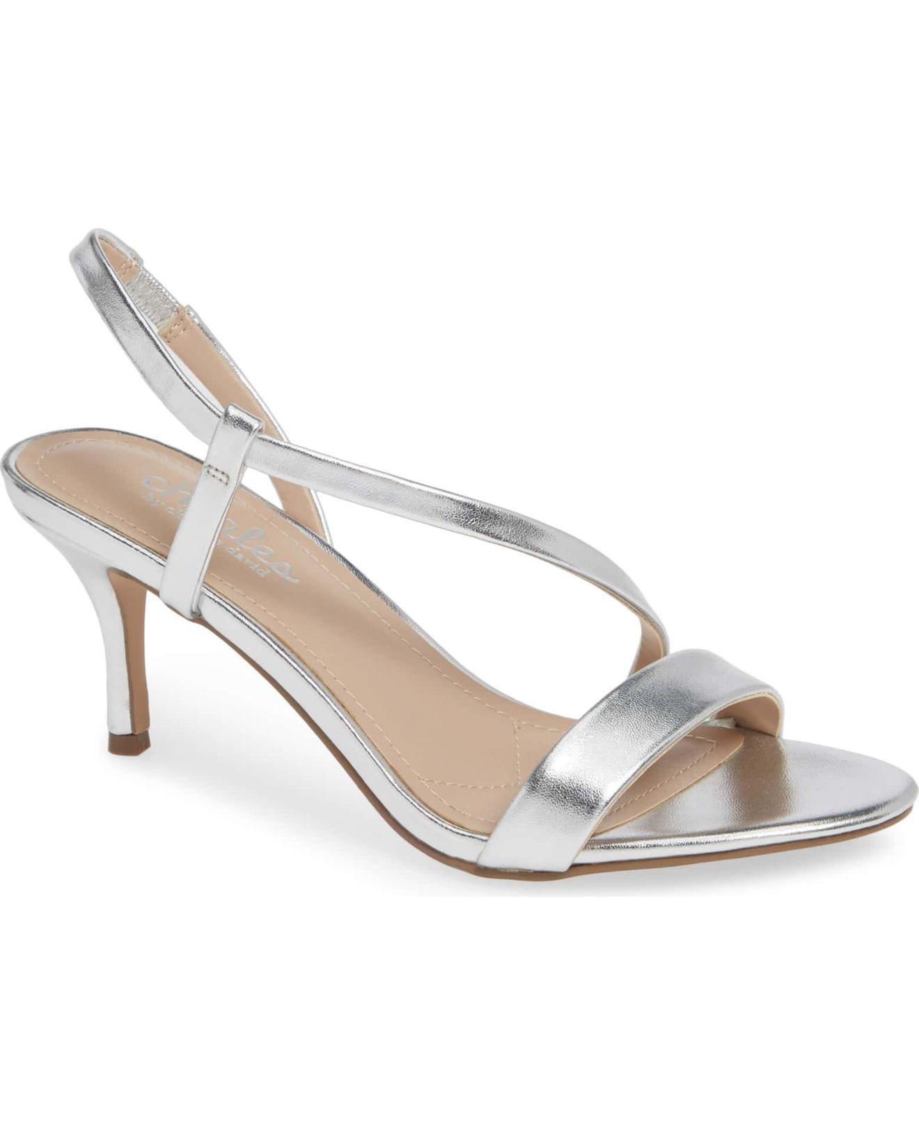 17fbd0444e3e Lyst - Charles David Bermuda Dress Sandals in Metallic