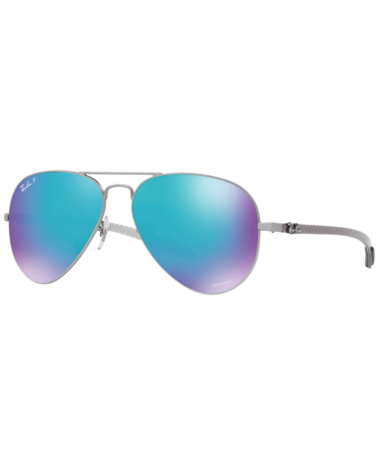 70c1ddcfcb Lyst - Ray-Ban Polarized Sunglasses