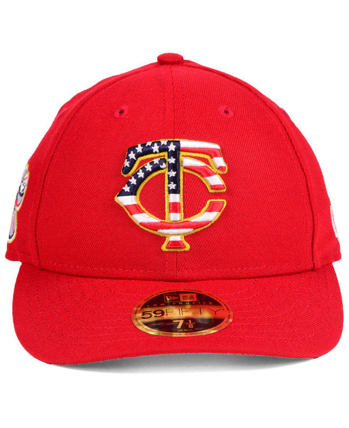 db5ca3edf1c6b8 ... new zealand lyst ktz minnesota twins stars and stripes low profile  59fifty fitted cap 2018 in