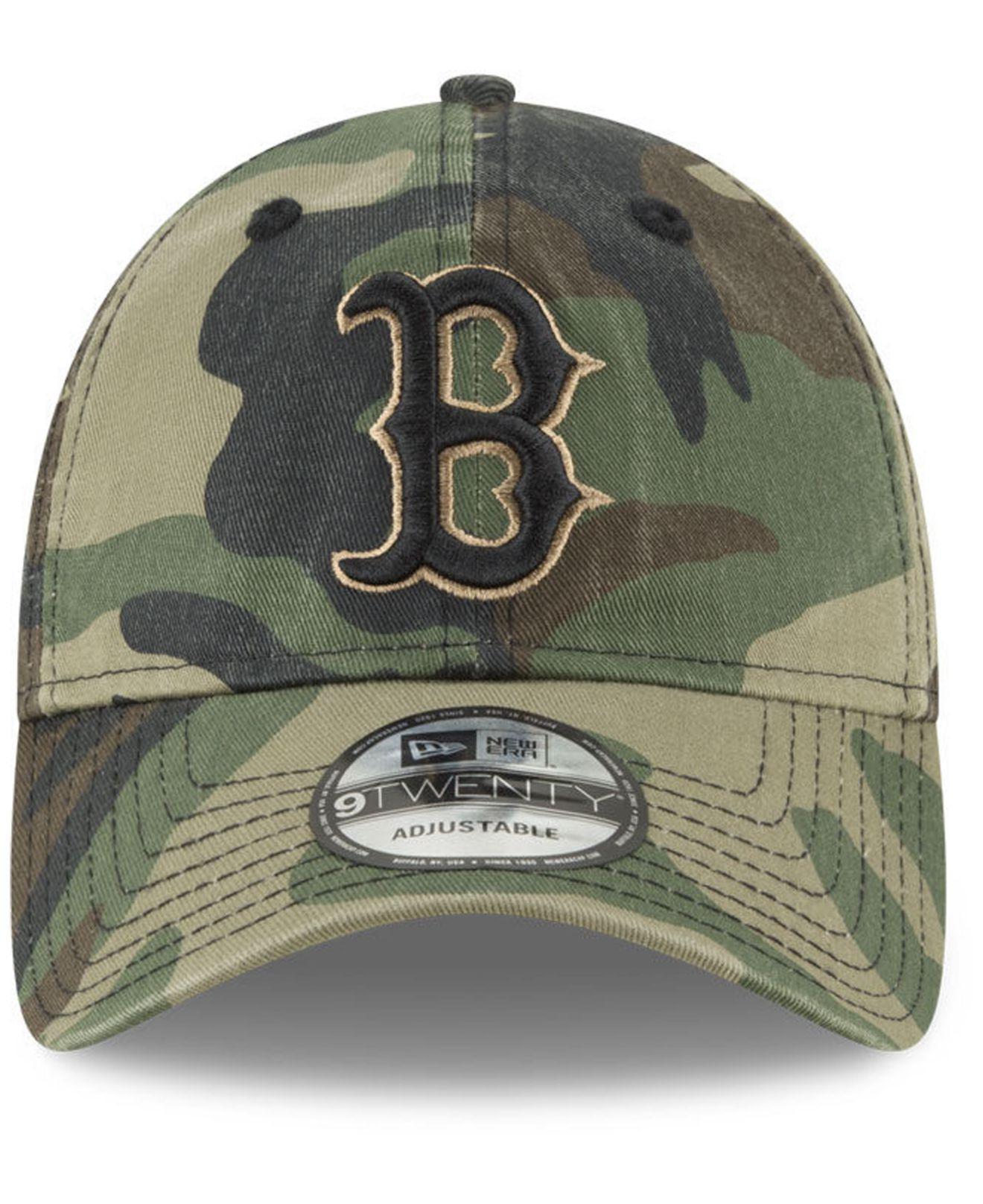 the best attitude fd283 204fb ... discount lyst ktz boston red sox camo core classic 9twenty cap in green  for men 13aa9