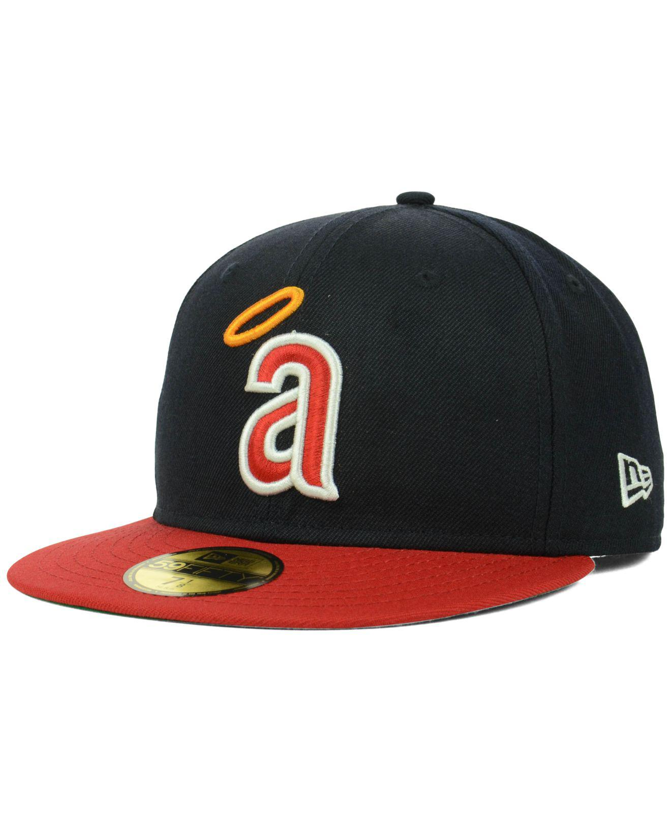 Lyst - KTZ Los Angeles Angels Of Anaheim Cooperstown 59fifty Cap in ... 1ac42c6774bc
