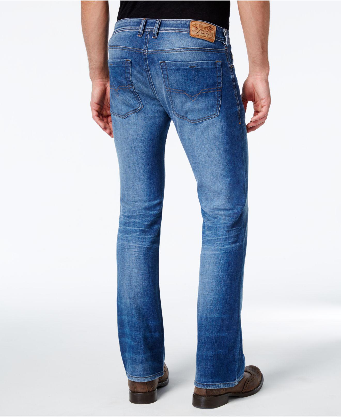 770bcfb4 DIESEL Men's Zathan 0831d Bootcut Jean in Blue for Men - Lyst