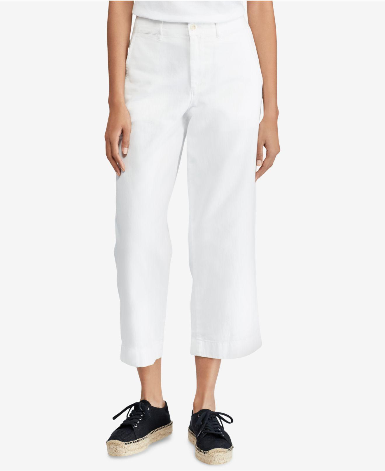 straight-let trousers - White Polo Ralph Lauren C8rTn