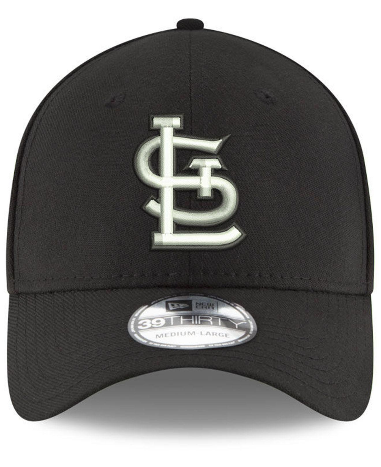 huge selection of ccdfe 7ea42 purchase lyst ktz st. louis cardinals dub classic 39thirty cap in black for  men 6ccda