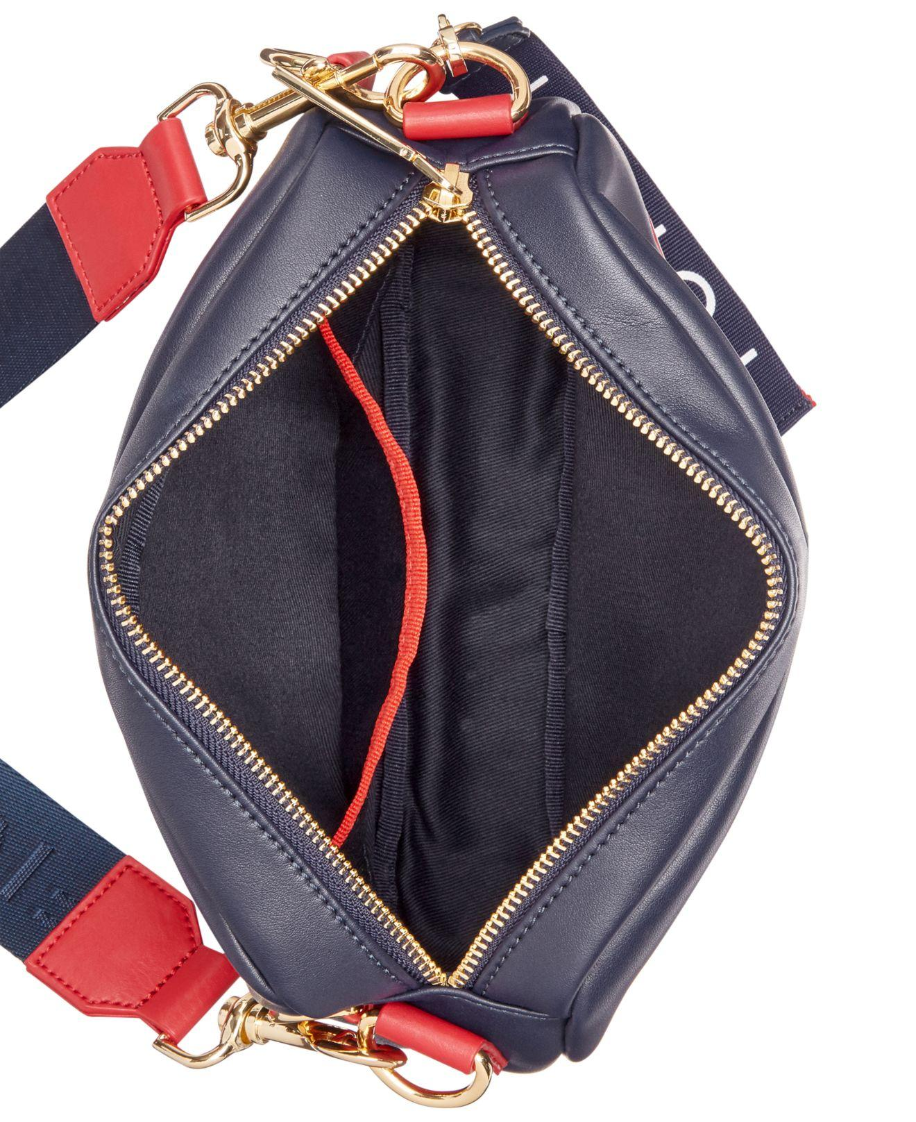 1f982479 Tommy Hilfiger Tashia Convertible Belt Bag in Blue - Lyst