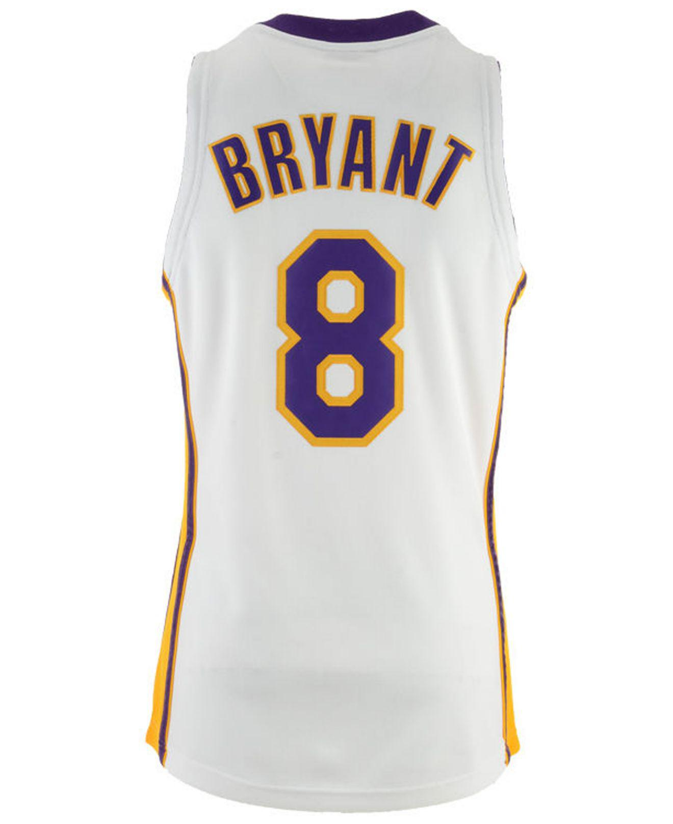 Mitchell & Ness Synthetic Kobe Bryant Los Angeles Lakers ...