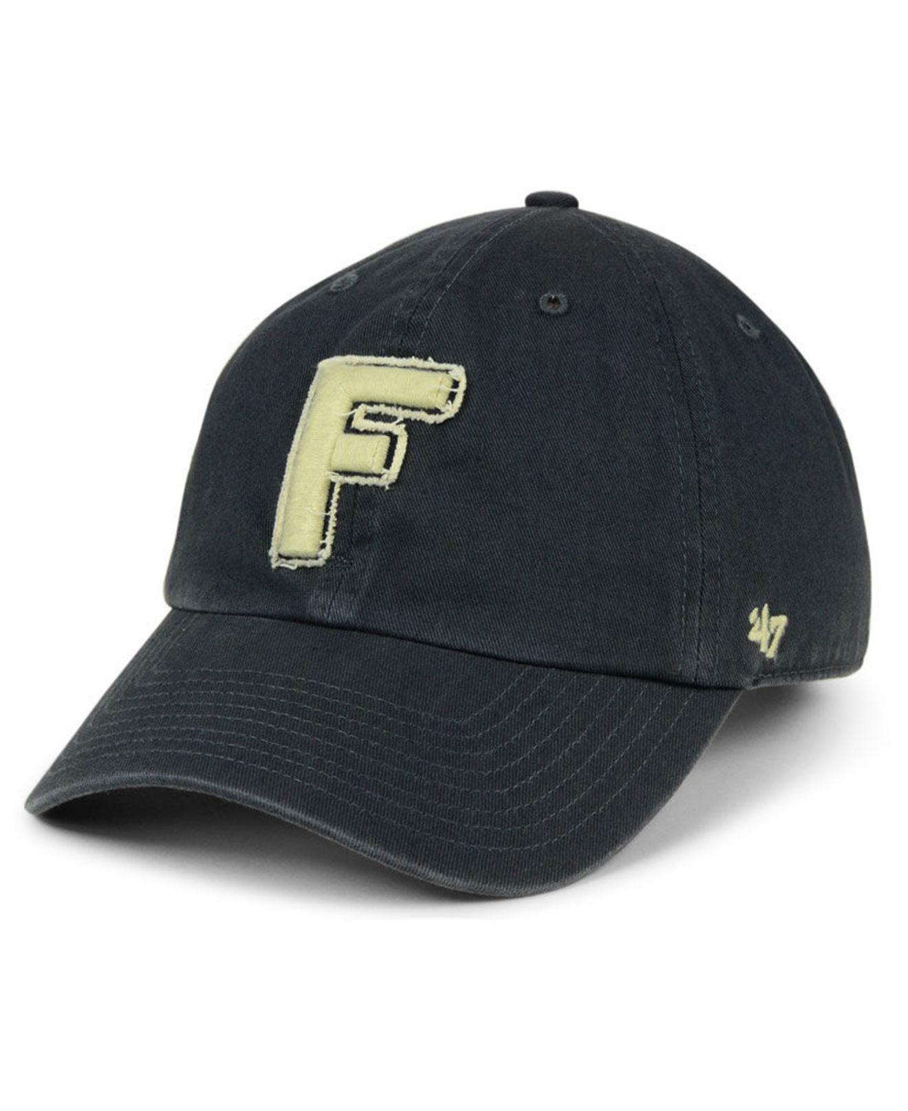 471e424c66a55 Lyst - 47 Brand Florida Gators Double Out Clean Up Cap in Blue for Men
