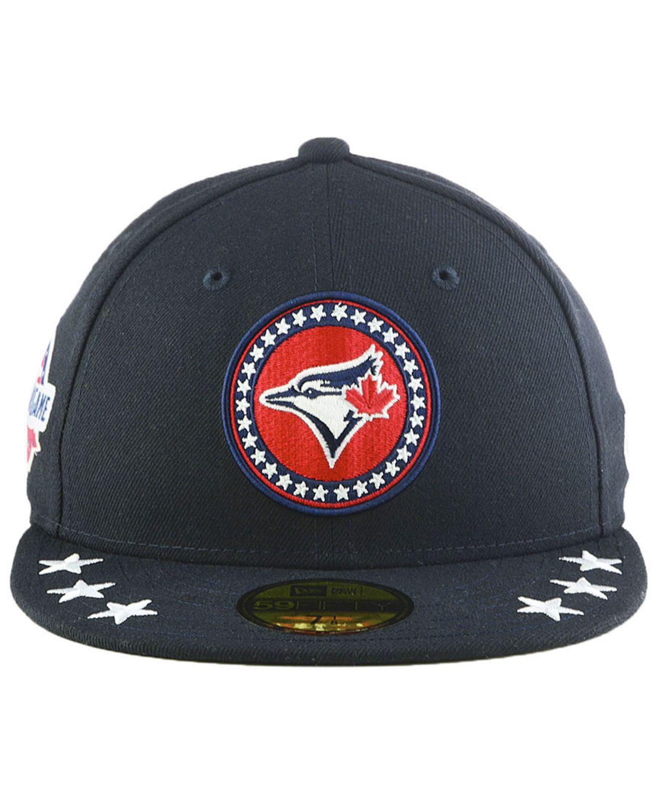 size 40 53bfe 174d9 Lyst - KTZ Toronto Blue Jays All Star Workout 59fifty Fitted Cap in Blue  for Men