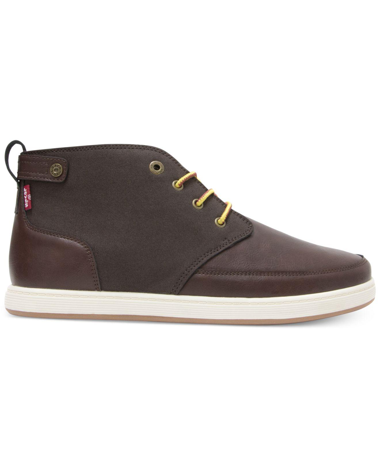 quality design new release wholesale sales Levi's Men's Atwater Burnish Sneakers in Brown for Men - Lyst