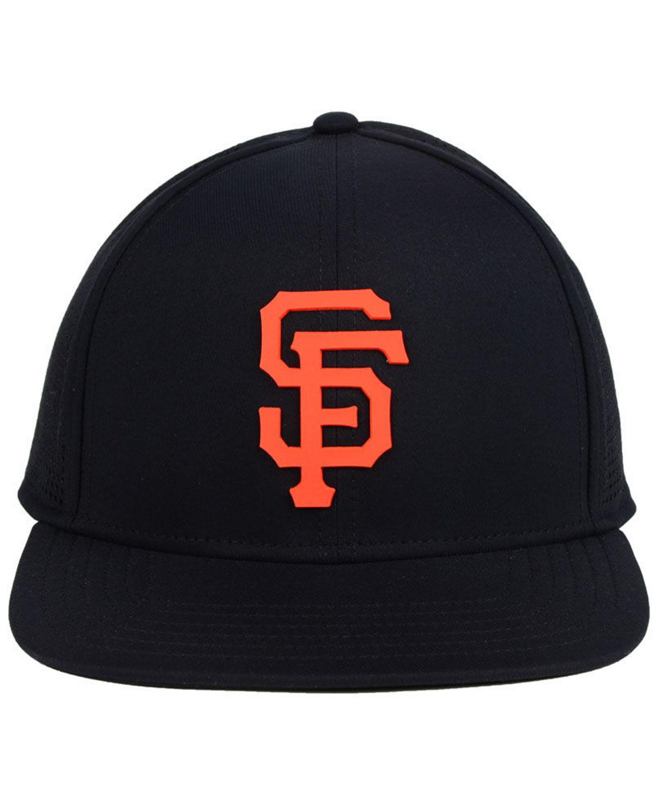 05a8786f375 ... inexpensive lyst under armour san francisco giants supervent cap in  black for men 137fe 2f605