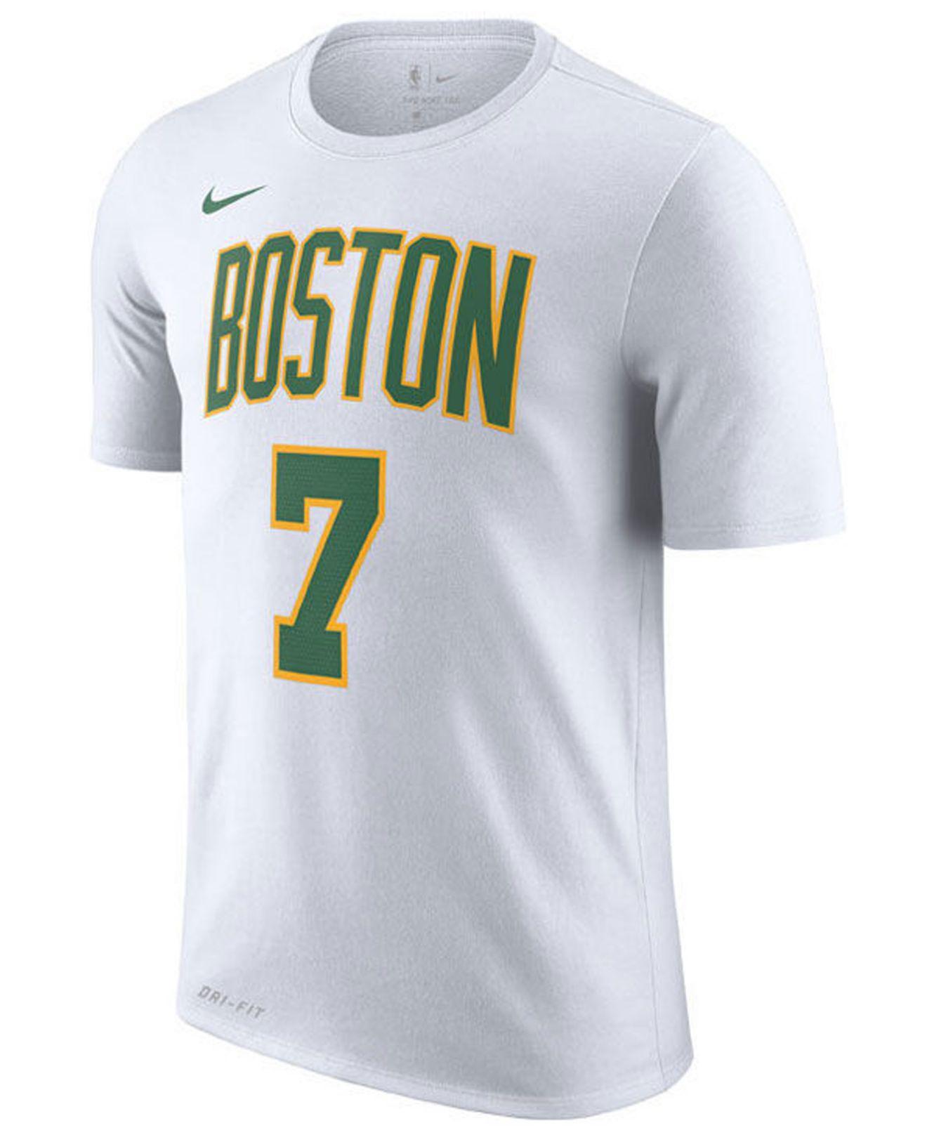 a50b28cc6 Nike - White Jaylen Brown Boston Celtics City Player T-shirt 2018 for Men  -. View fullscreen