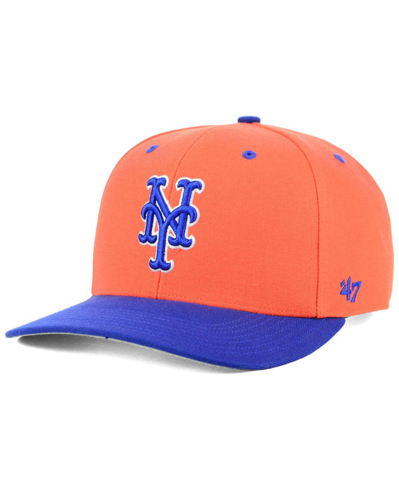 87d55a07b49 Lyst - 47 Brand New York Mets 2 Tone Mvp Cap for Men