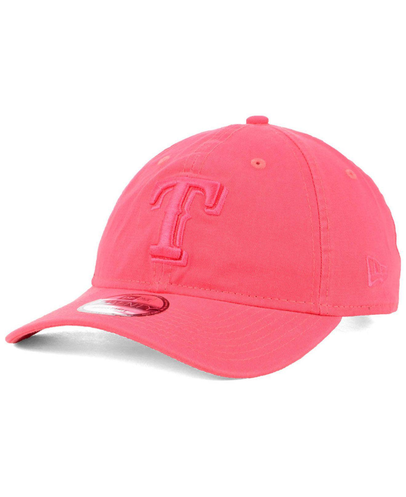 brand new bd1de 7c0f5 ... discount code for ktz. womens pink texas rangers spring classic 9twenty  cap d4991 ba116