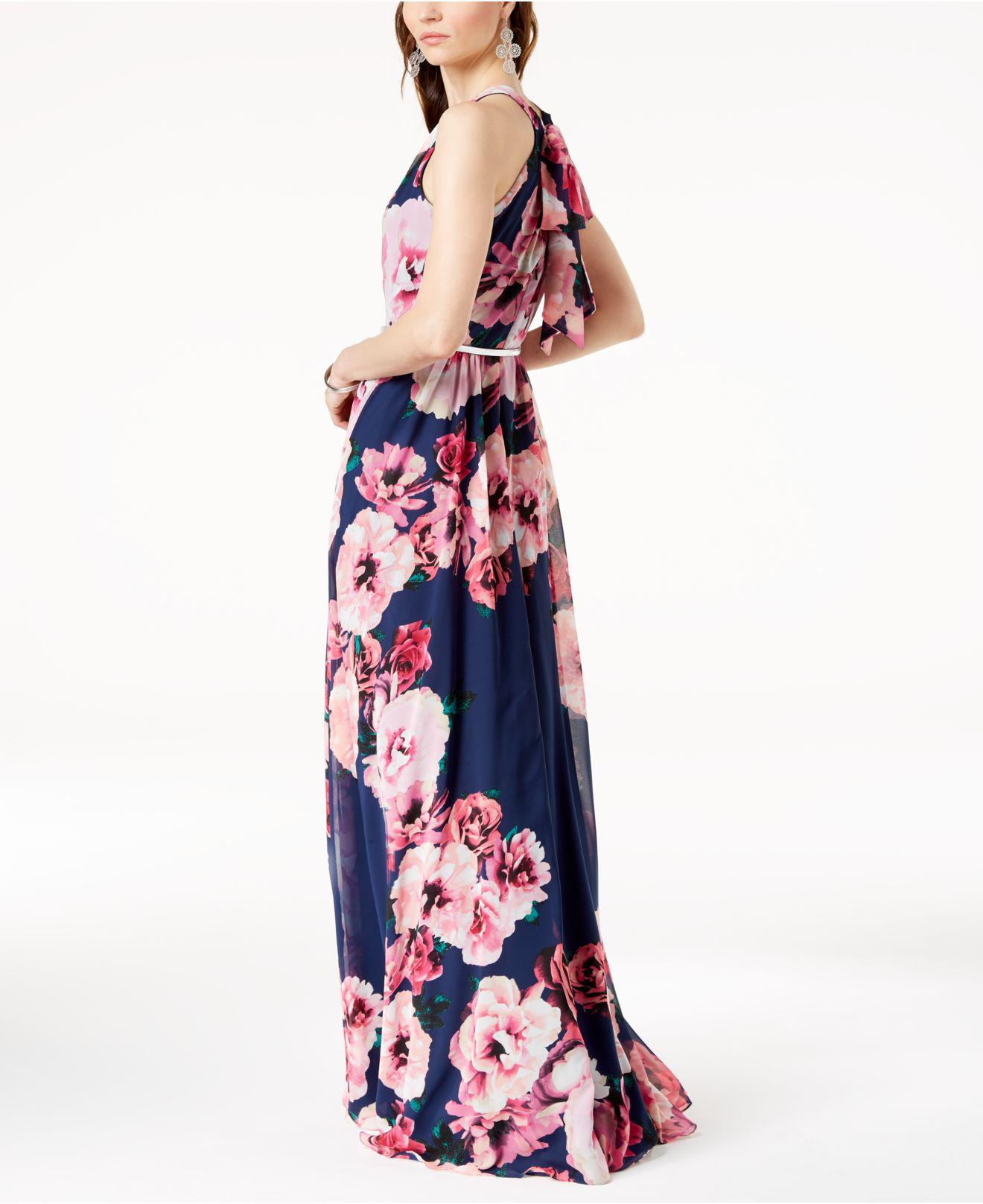 0d01b9f06 INC International Concepts I.n.c. Petite Belted Floral-print Maxi ...