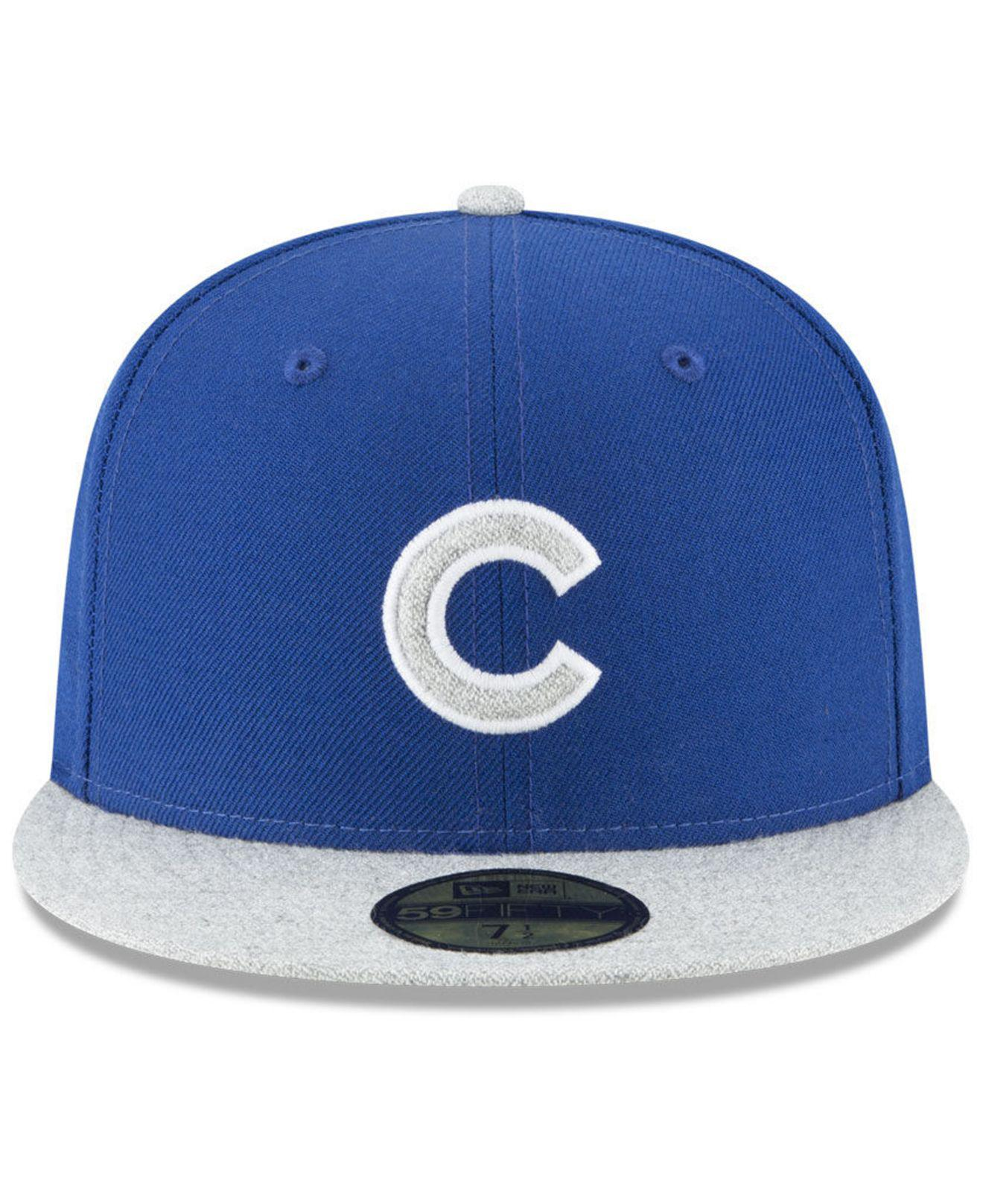 more photos cd331 5fc7c Lyst - KTZ Chicago Cubs Pop Color 59fifty Fitted Cap in Blue for Men