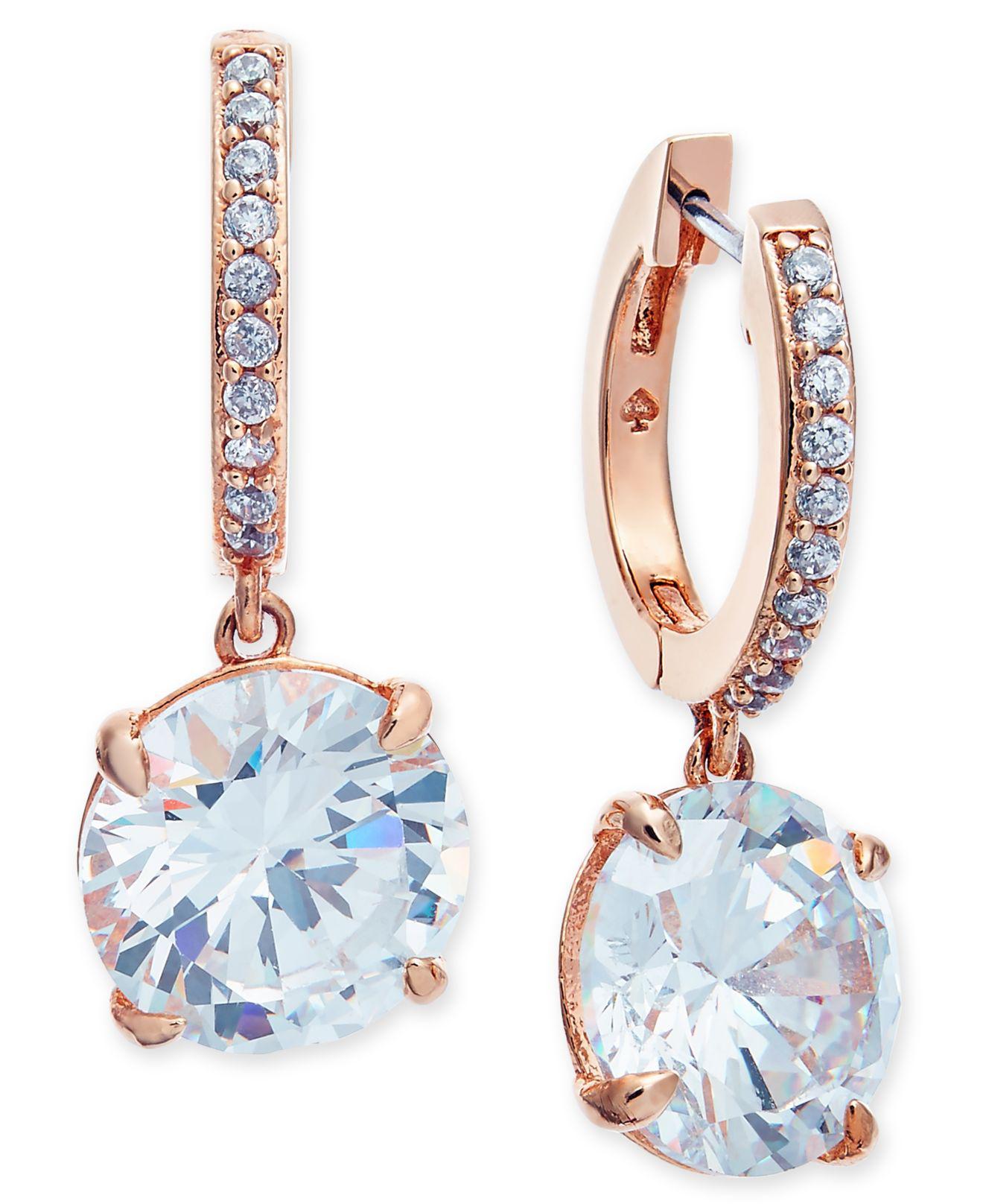 505167aa5f5be Women's Metallic Crystal And Pavé Drop Earrings