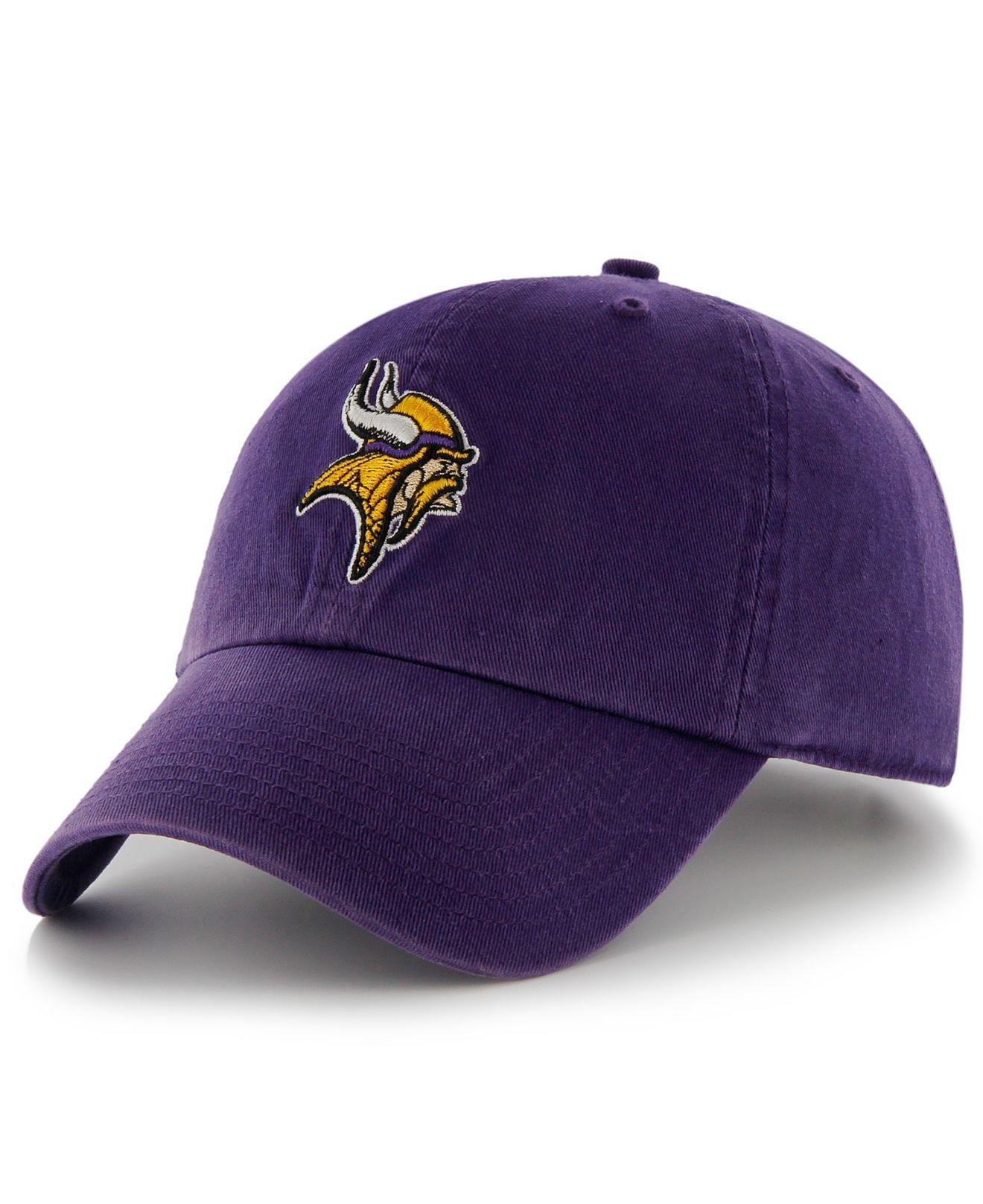 super popular 49489 13af2 47 Brand. Men s Purple Minnesota Vikings Franchise Hat