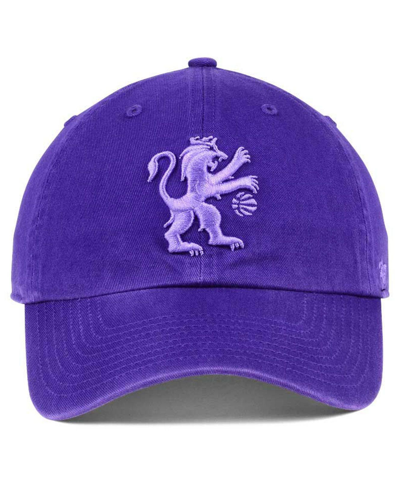 release date: 59198 266b8 best price portland trail blazers 47 nba 47 clean up cap eacf7 4ab34   sweden lyst 47 brand triple rush clean up cap in purple for men f08e4 31ef1