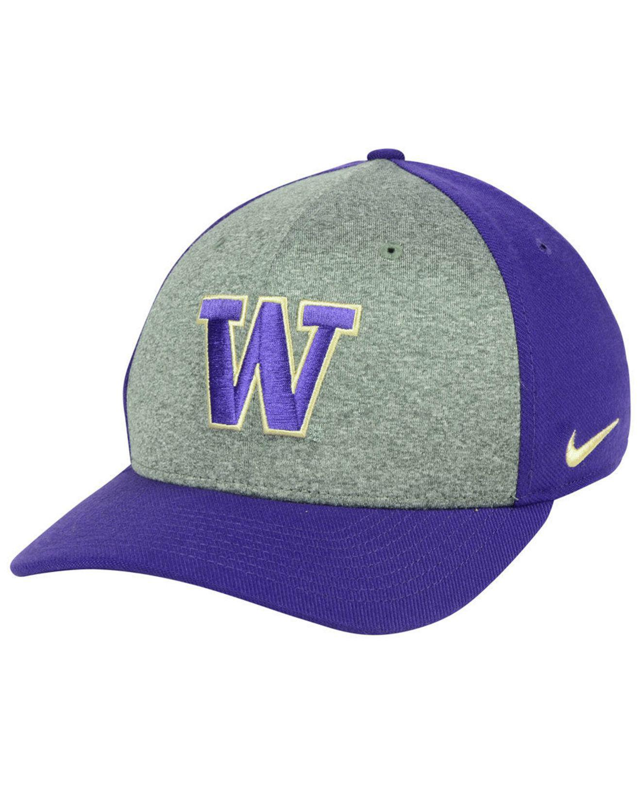 half off a56f9 31610 Lyst - Nike Washington Huskies Legend Swooshflex Cap in Purple for Men