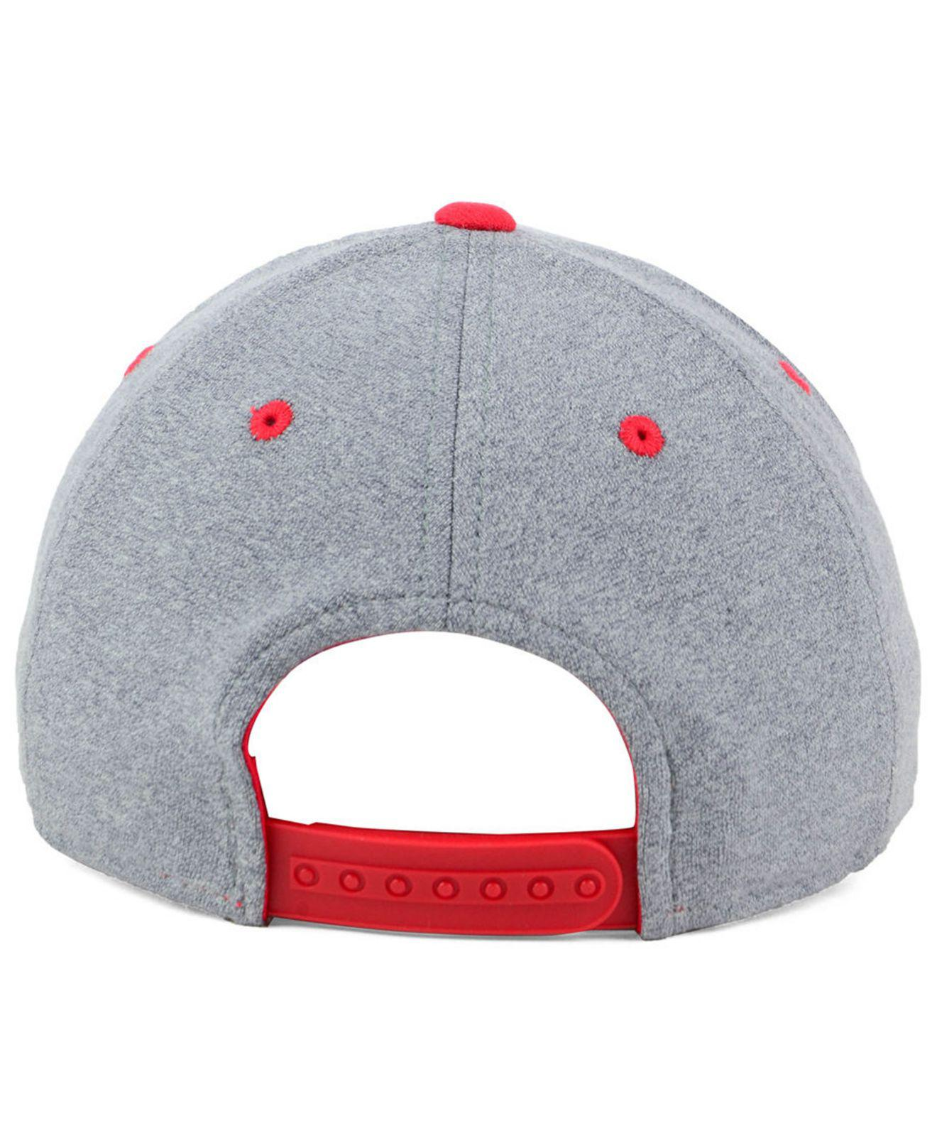 aa336fdf1f15e ... cheapest adidas red chicago fire structure adjustable cap for men lyst.  view fullscreen 6533a c6968
