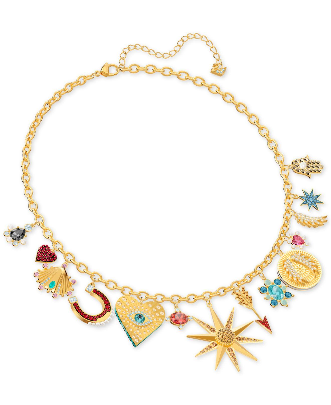 Lucky Goddess Charms Necklace