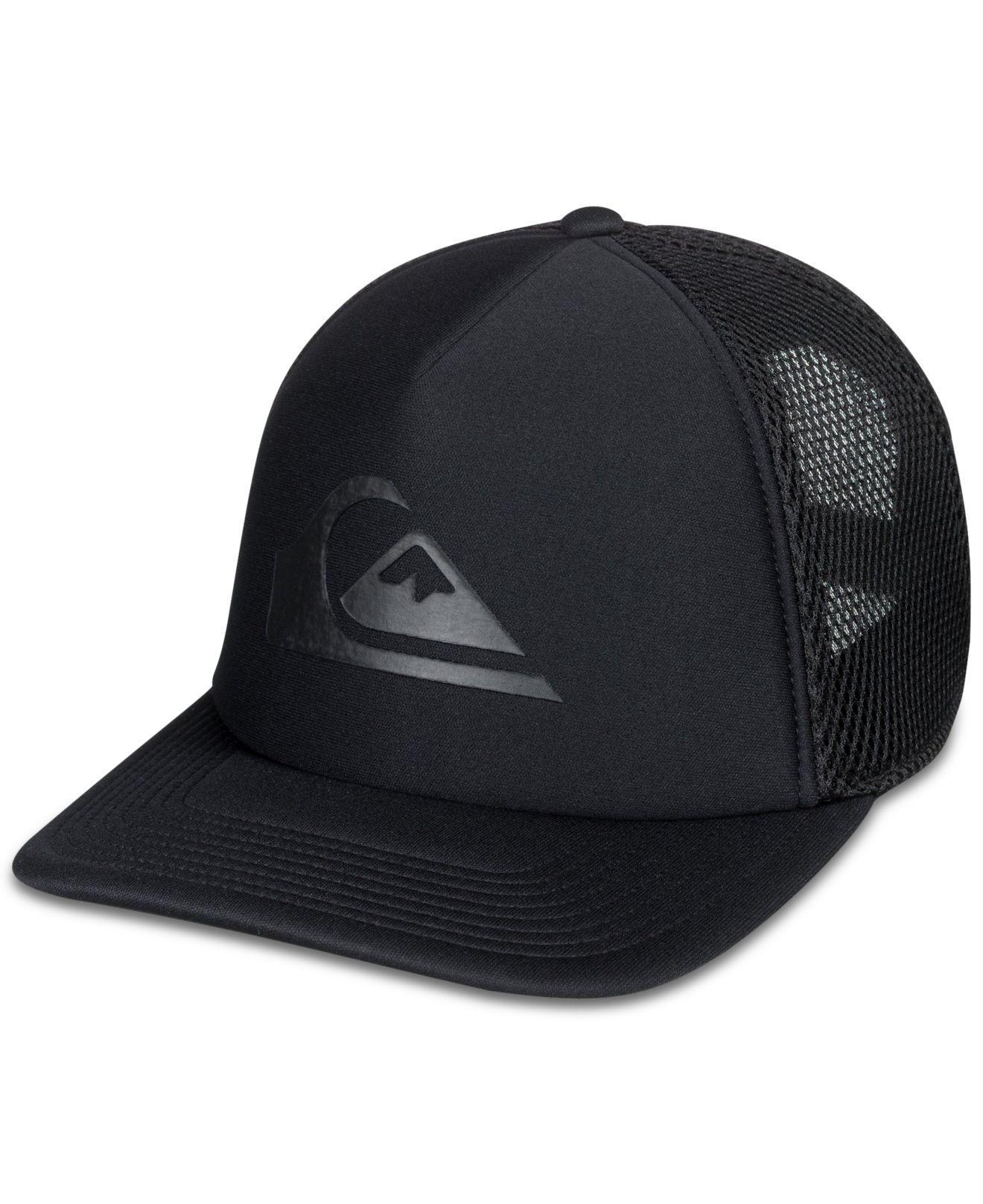 Lyst - Quiksilver All Bent Up Hat in Black for Men 51565210411