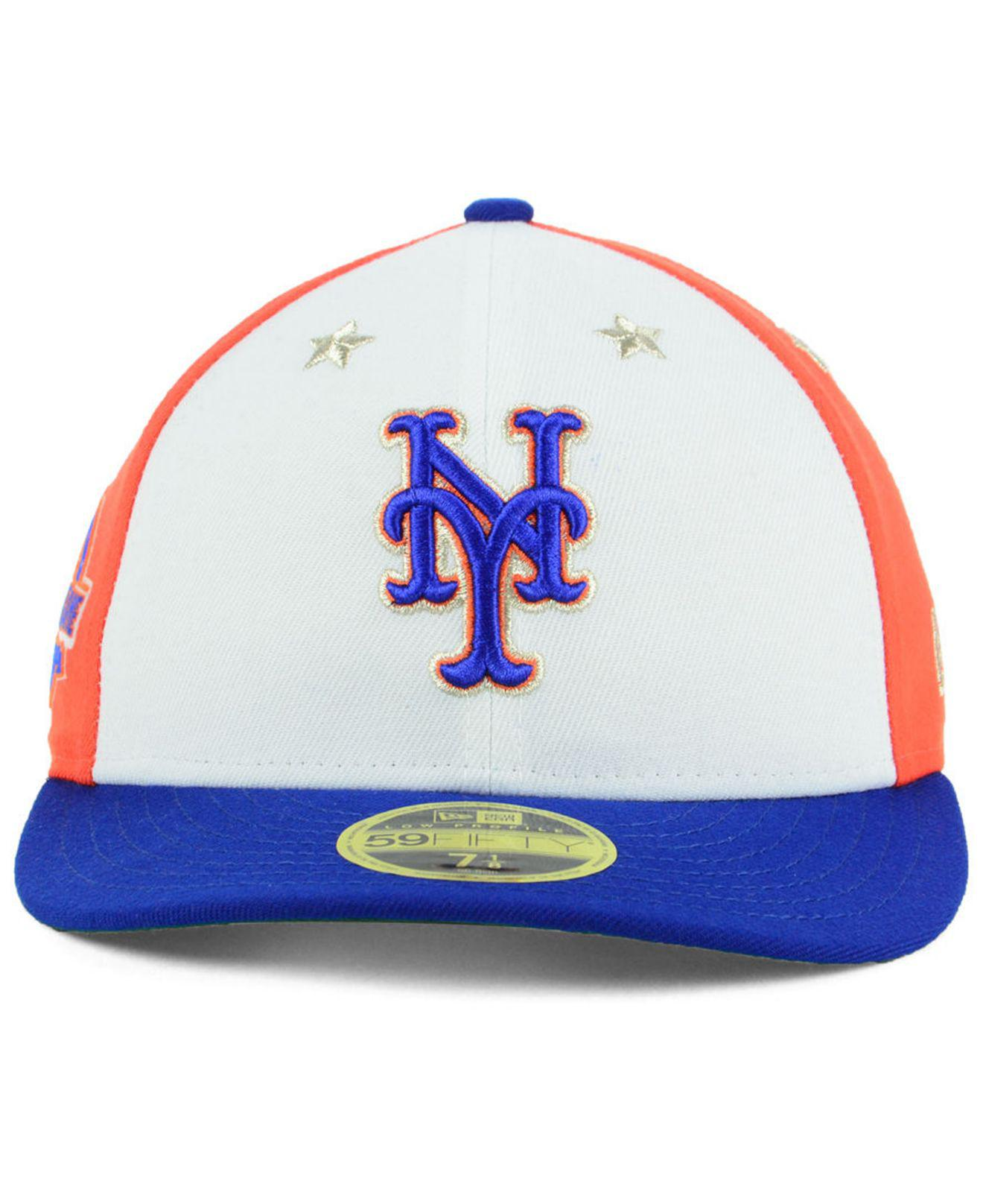 Lyst - KTZ New York Mets All Star Game Patch Low Profile 59fifty ... 8ed94d98b1cc