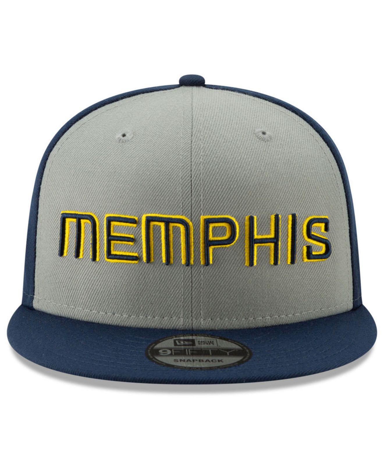 half off 9cbdb 2e1a9 Lyst - KTZ Memphis Grizzlies City Series 2.0 9fifty Snapback Cap in Blue  for Men