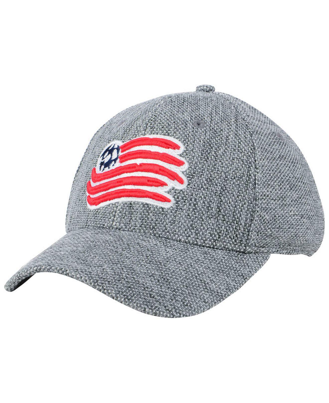 Lyst - Adidas New England Revolution Penalty Kick Flex Cap in Gray ... b3bc466f817