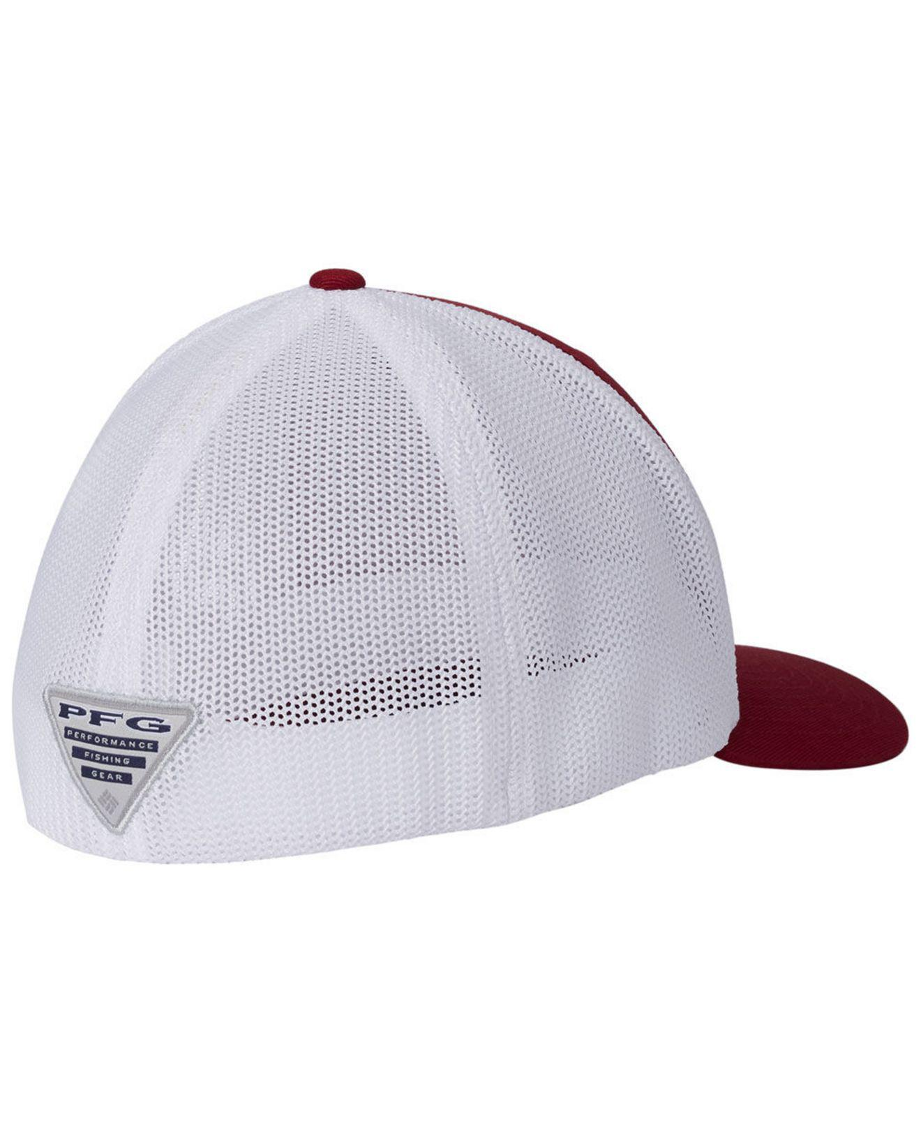 Lyst - Columbia Alabama Crimson Tide Pfg Stretch Fitted Cap in Red for Men 9f2aa99db0a7