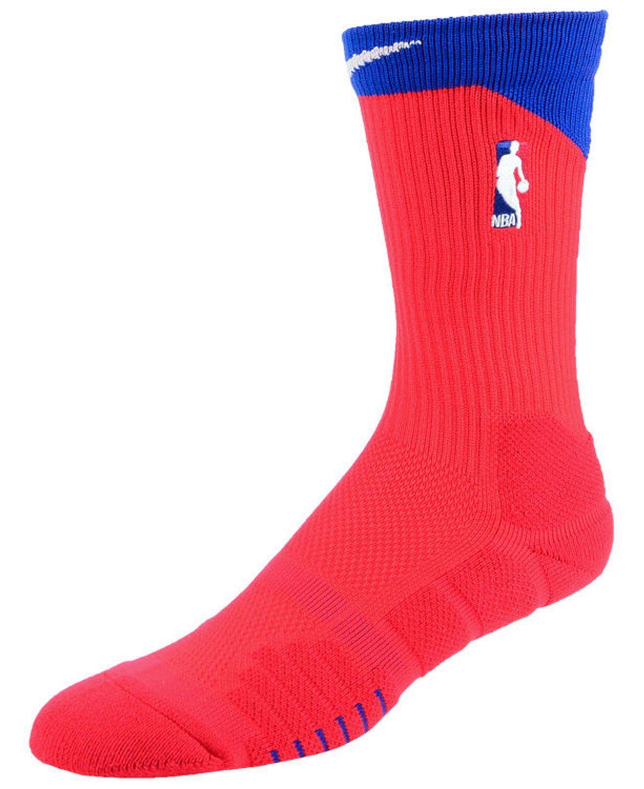 b7fec391ce8 Lyst - Nike Nba All Star Elite Quick Alt Crew Socks in Red for Men