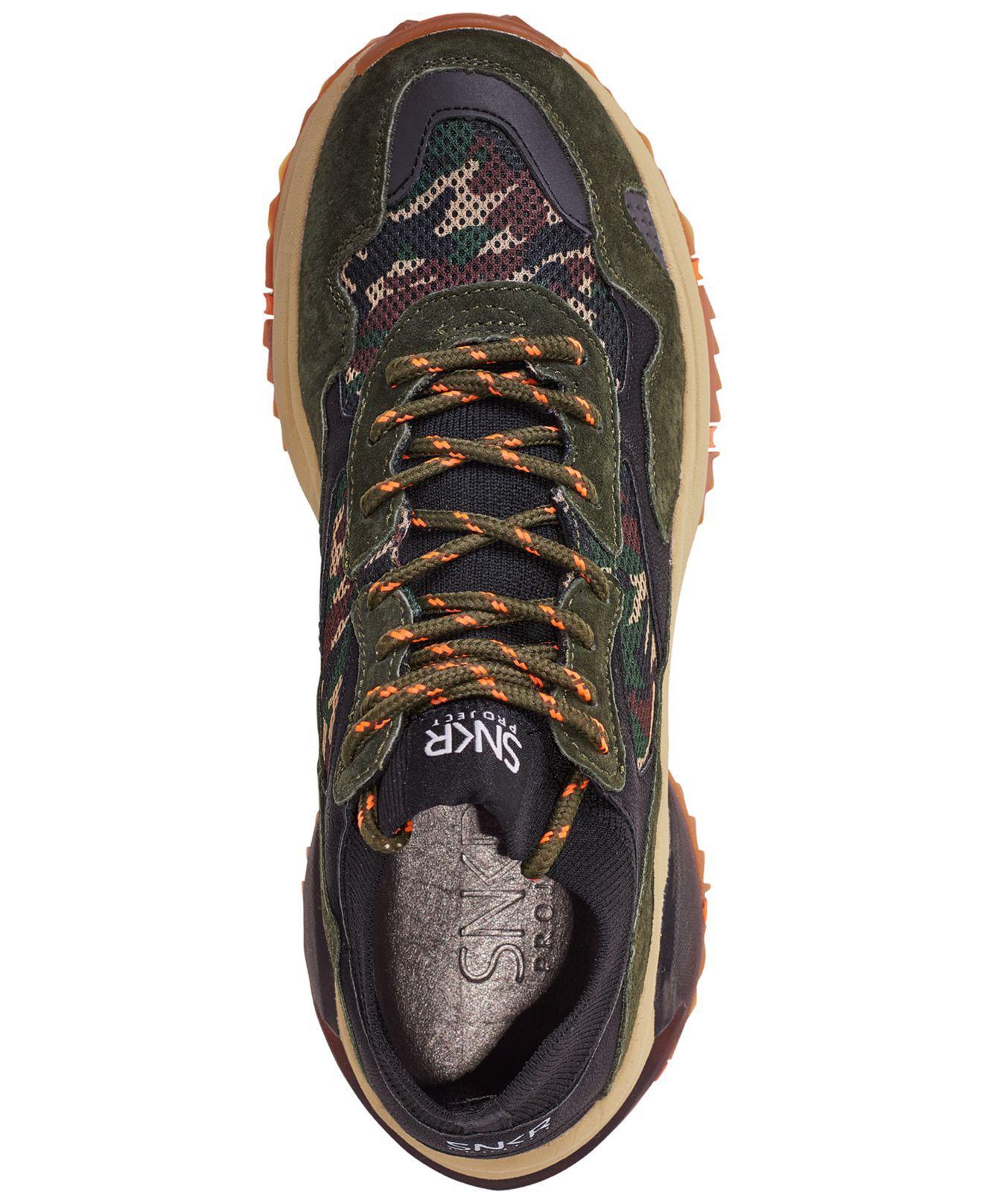Suede Crosby Athletic Casual Sneakers
