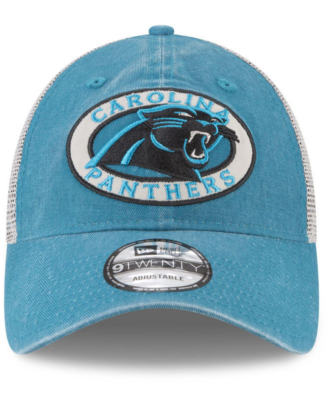 low priced 5914b 27228 ... uk lyst ktz carolina panthers patched pride 9twenty cap in blue for men  8977c 728a5