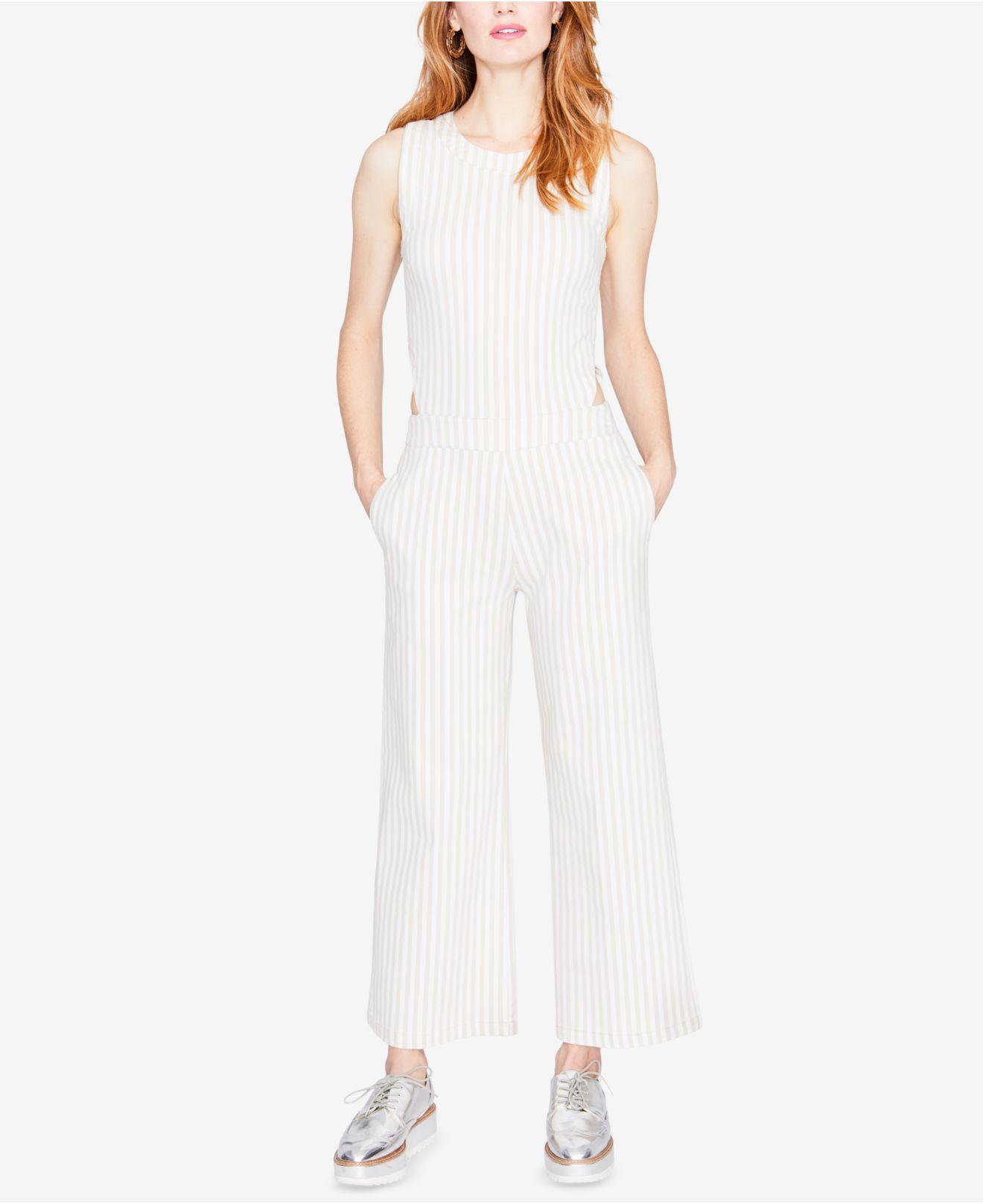 701e10082fc9 Lyst - RACHEL Rachel Roy Striped Side-cutout Jumpsuit