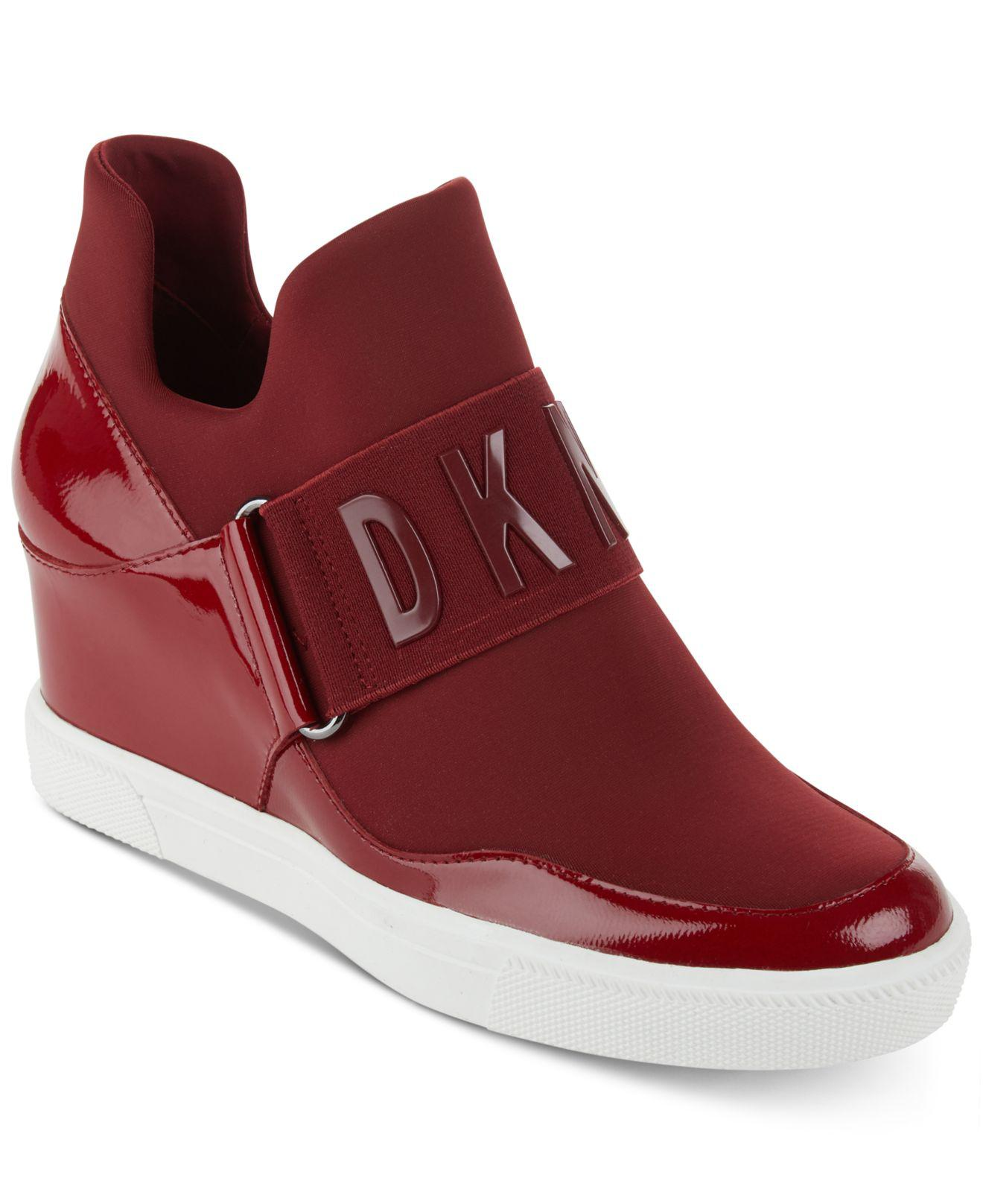d4275e183e90 Lyst - DKNY Cosmos Platform Sneakers