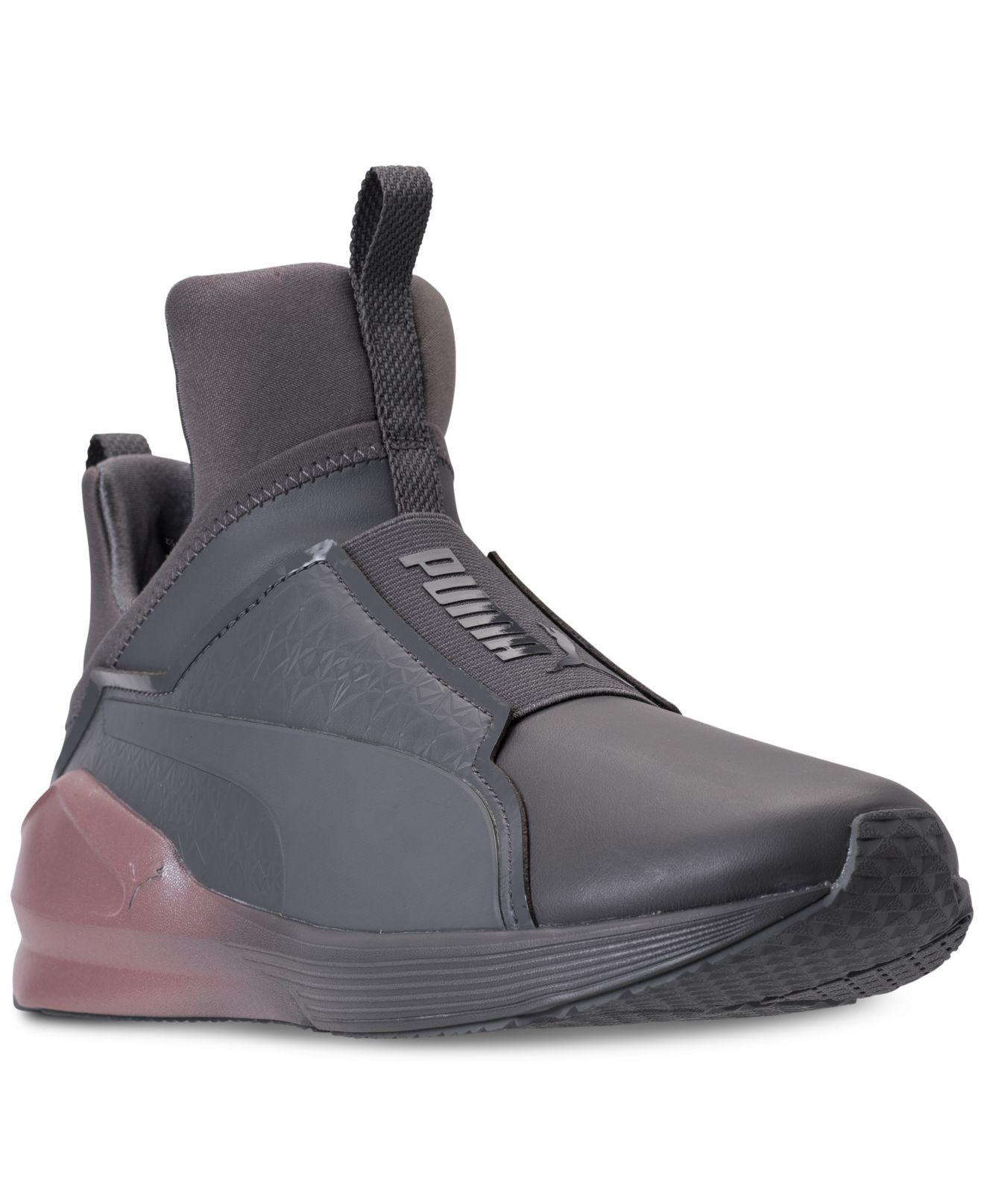 116fa1e9f7eae9 Lyst - PUMA Women s Fierce Chalet Casual Sneakers From Finish Line ...