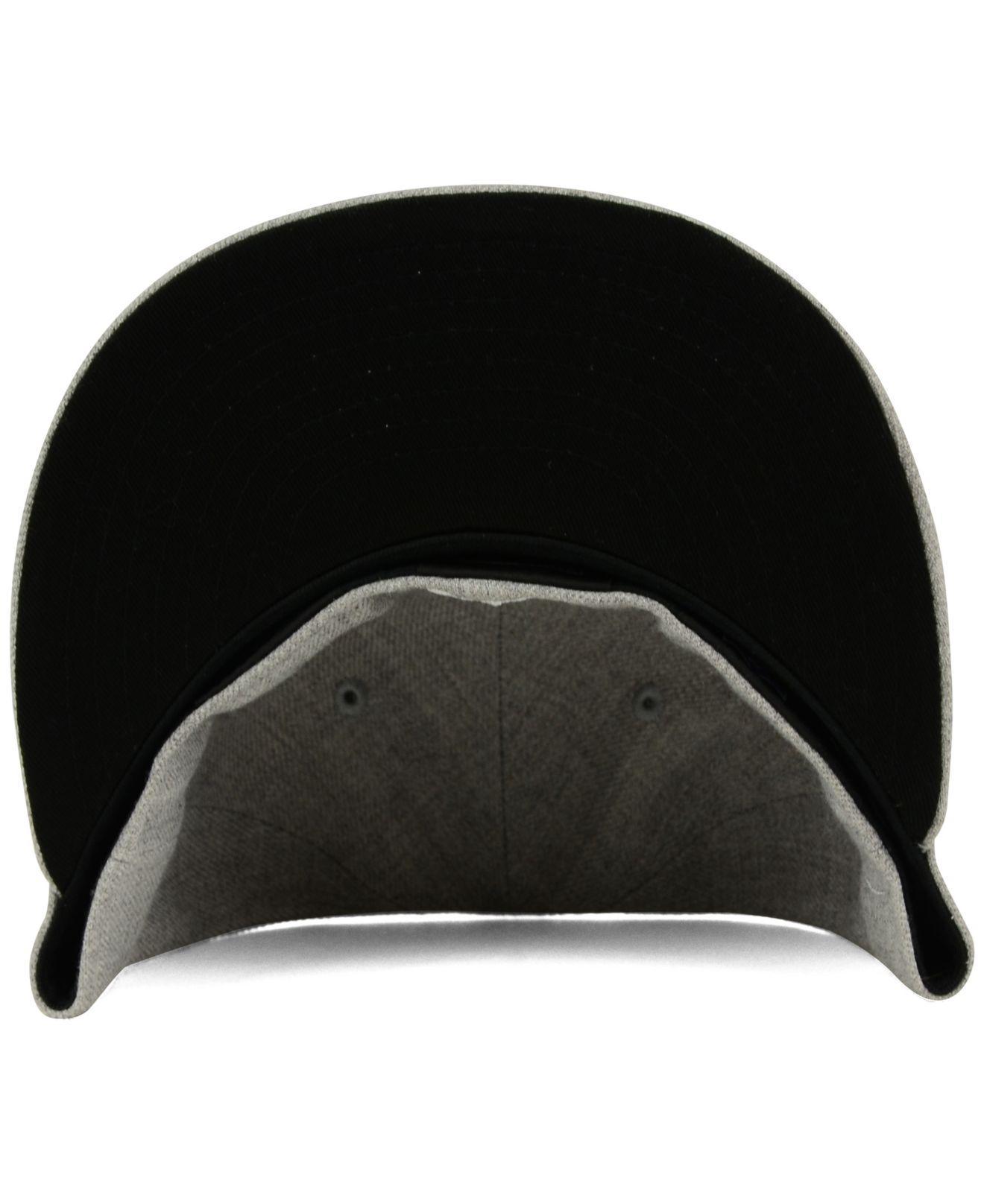 new product c8e62 68747 ... Houston Texans Heather Black White 59fifty Cap for Men - Lyst. View  fullscreen