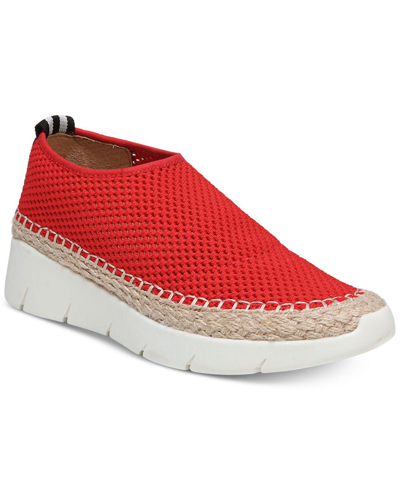 Franco Sarto Pascha Perforated Slip-On Espadrille Fashion Sneakers Women's Shoes JqrpEMWH